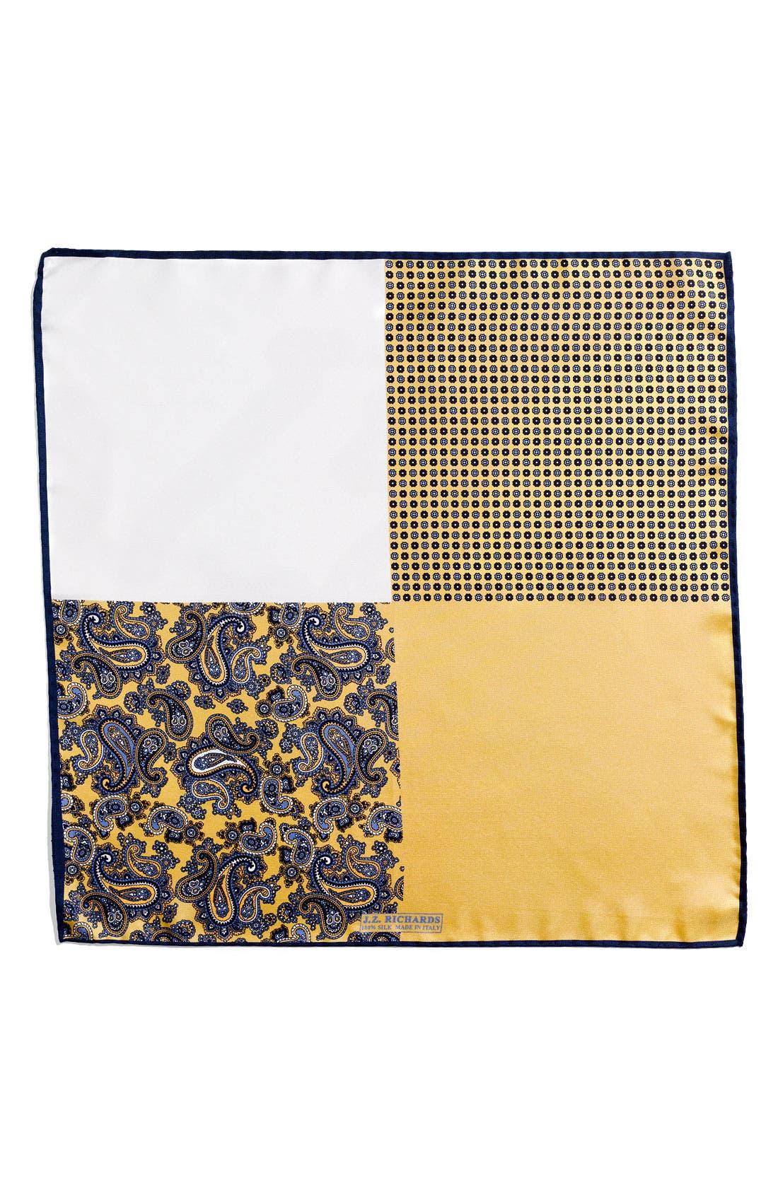 Alternate Image 1 Selected - J.Z. Richards Silk Pocket Square