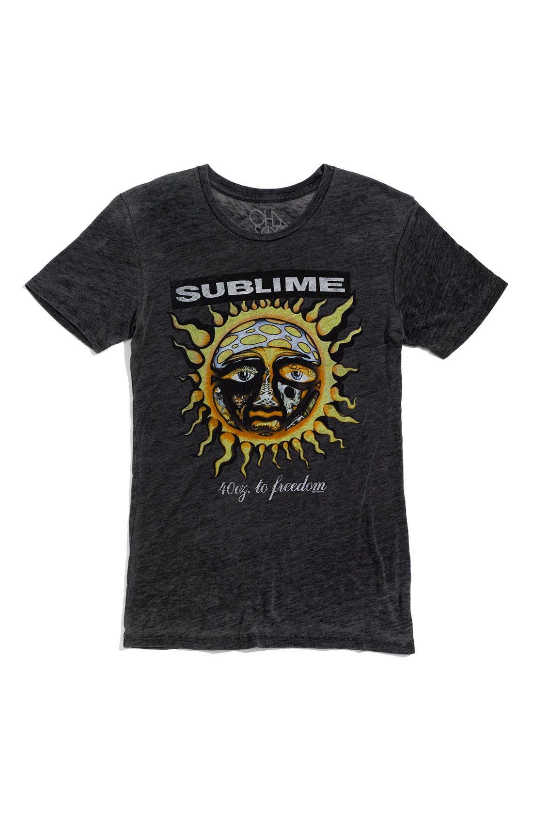 Alternate Image 1 Selected - Chaser 'Sublime' Crewneck T-Shirt (Men)