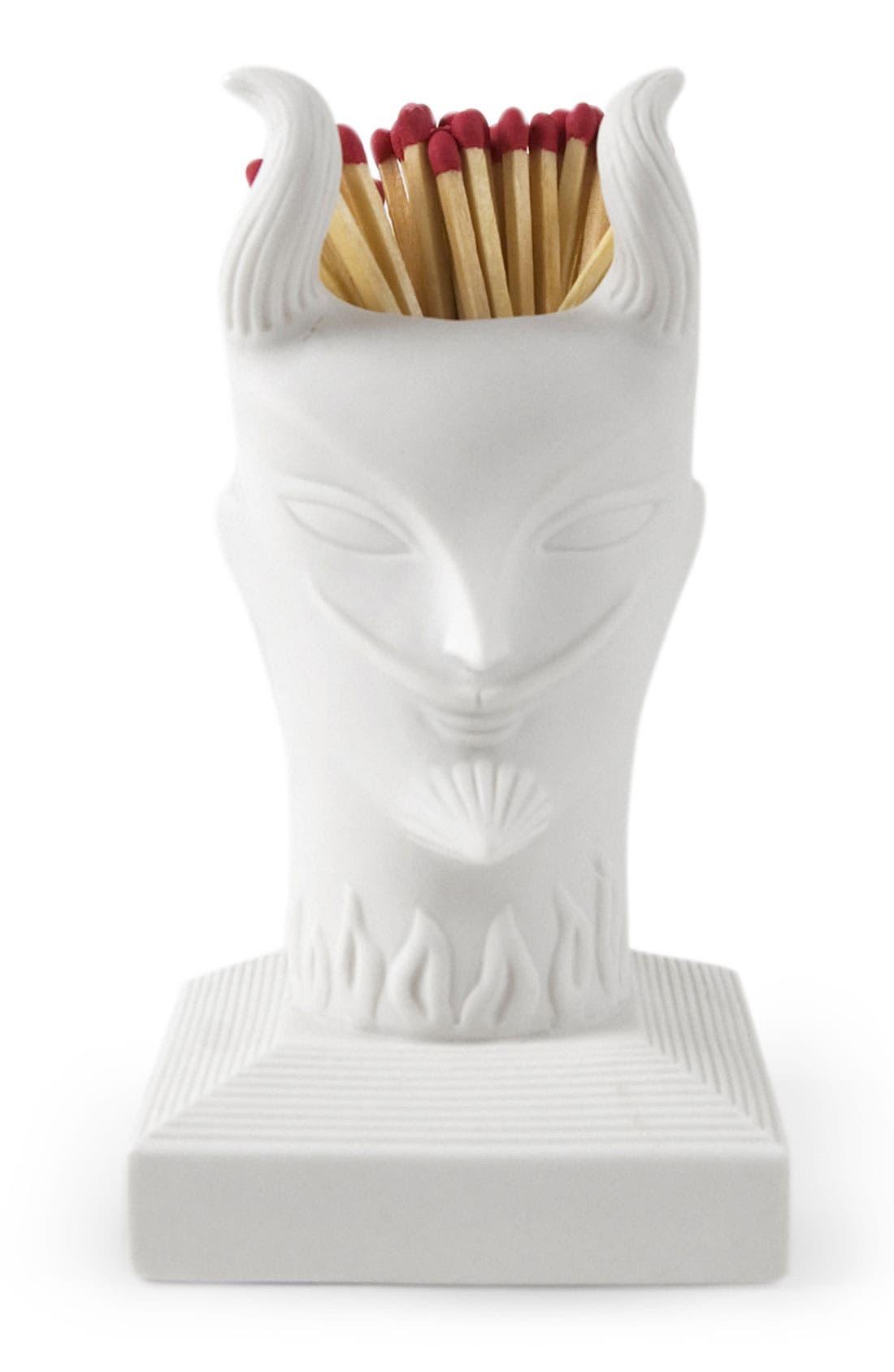Alternate Image 2  - Jonathan Adler 'Devil' Porcelain Match Strike