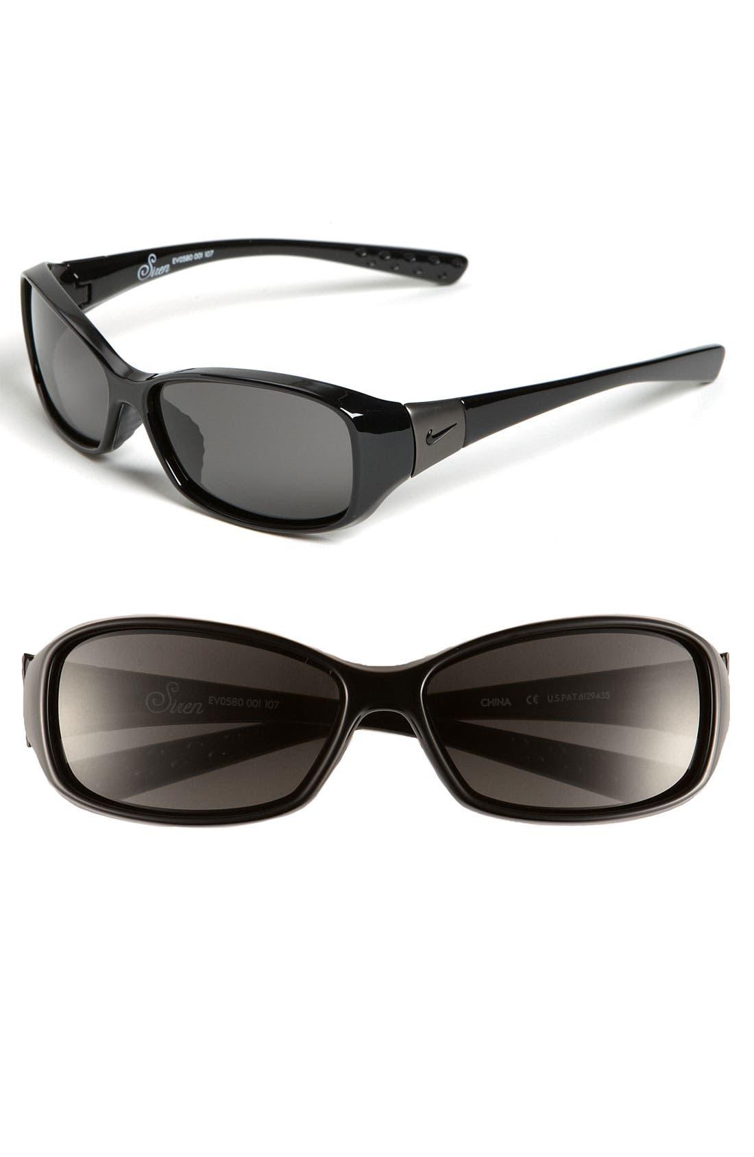 'Siren' 58mm Sunglasses,                         Main,                         color, Black