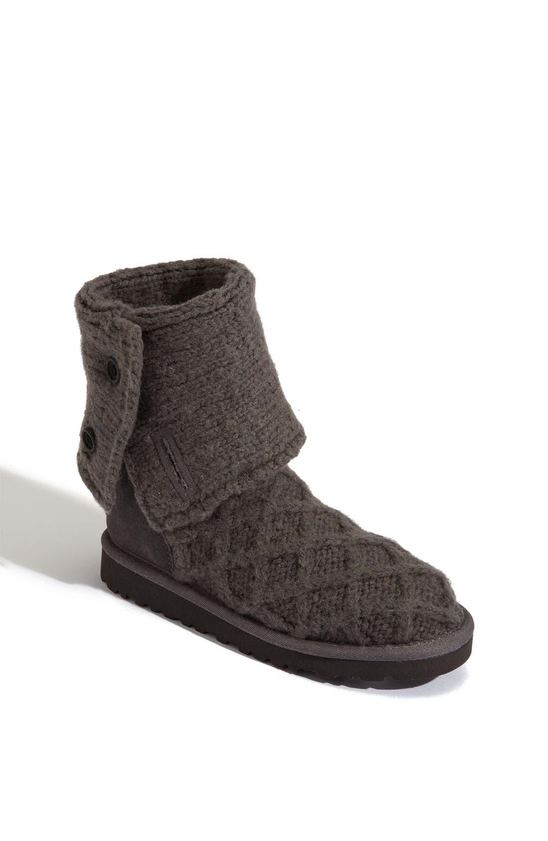 Main Image - UGG® Australia 'Lattice Cardy' Boot (Toddler, Little Kid & Big Kid)