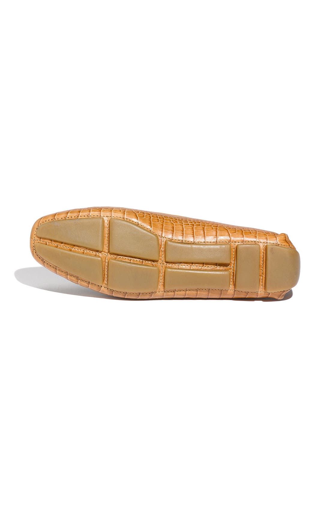 Alternate Image 4  - Prada Snake Stamped Leather Driving Moccasin