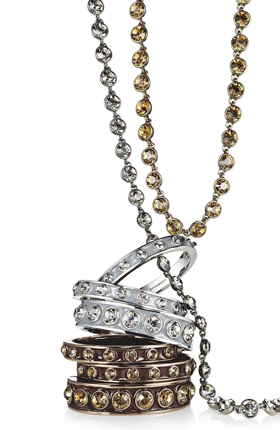 Alternate Image 3  - Givenchy Crystal Station Long Necklace (Nordstrom Exclusive)