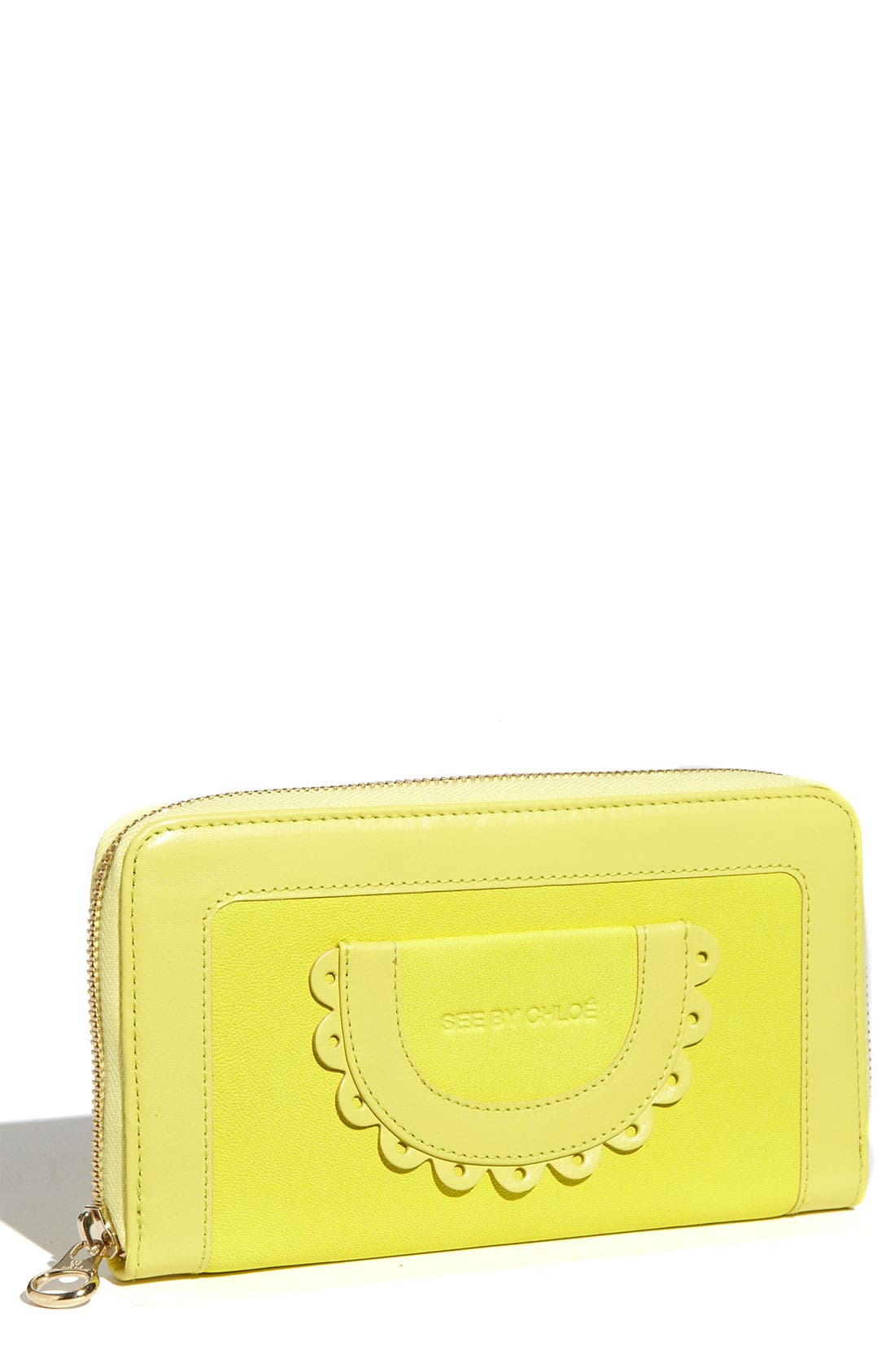 Main Image - See By Chloé Zip Around Wallet