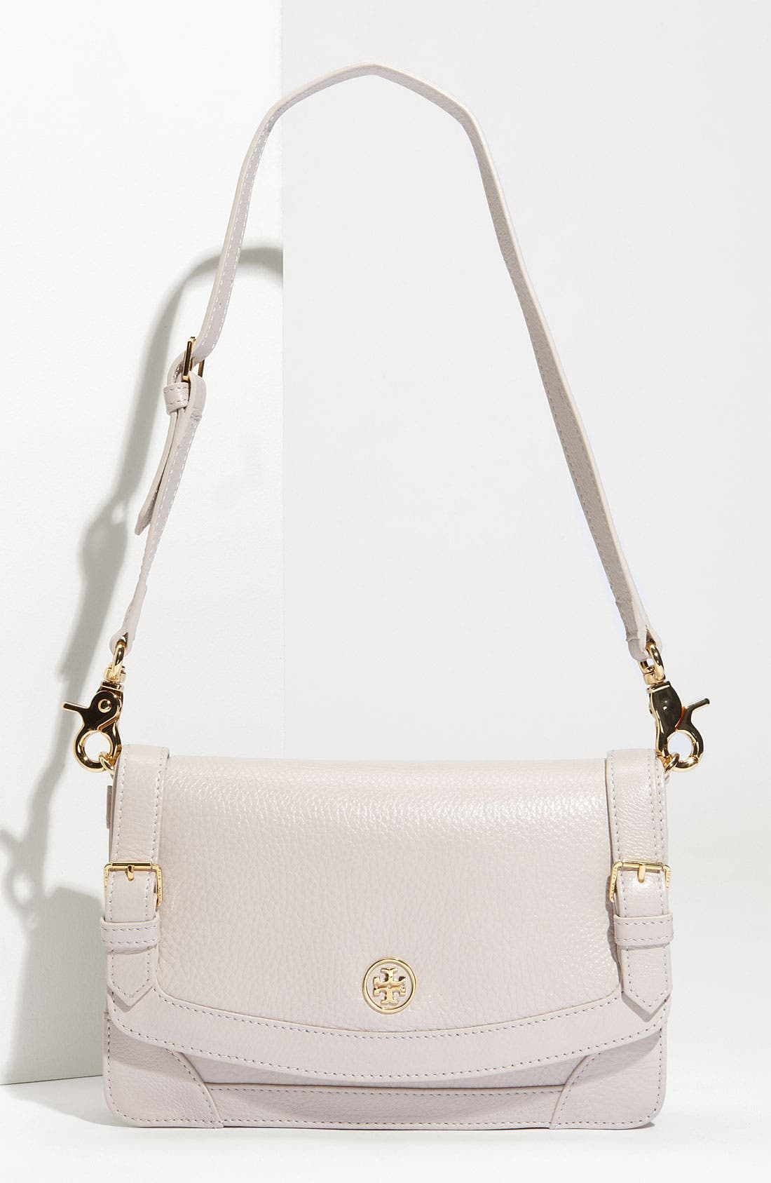 Main Image - Tory Burch 'Glossy Ally - Small' Shoulder Bag