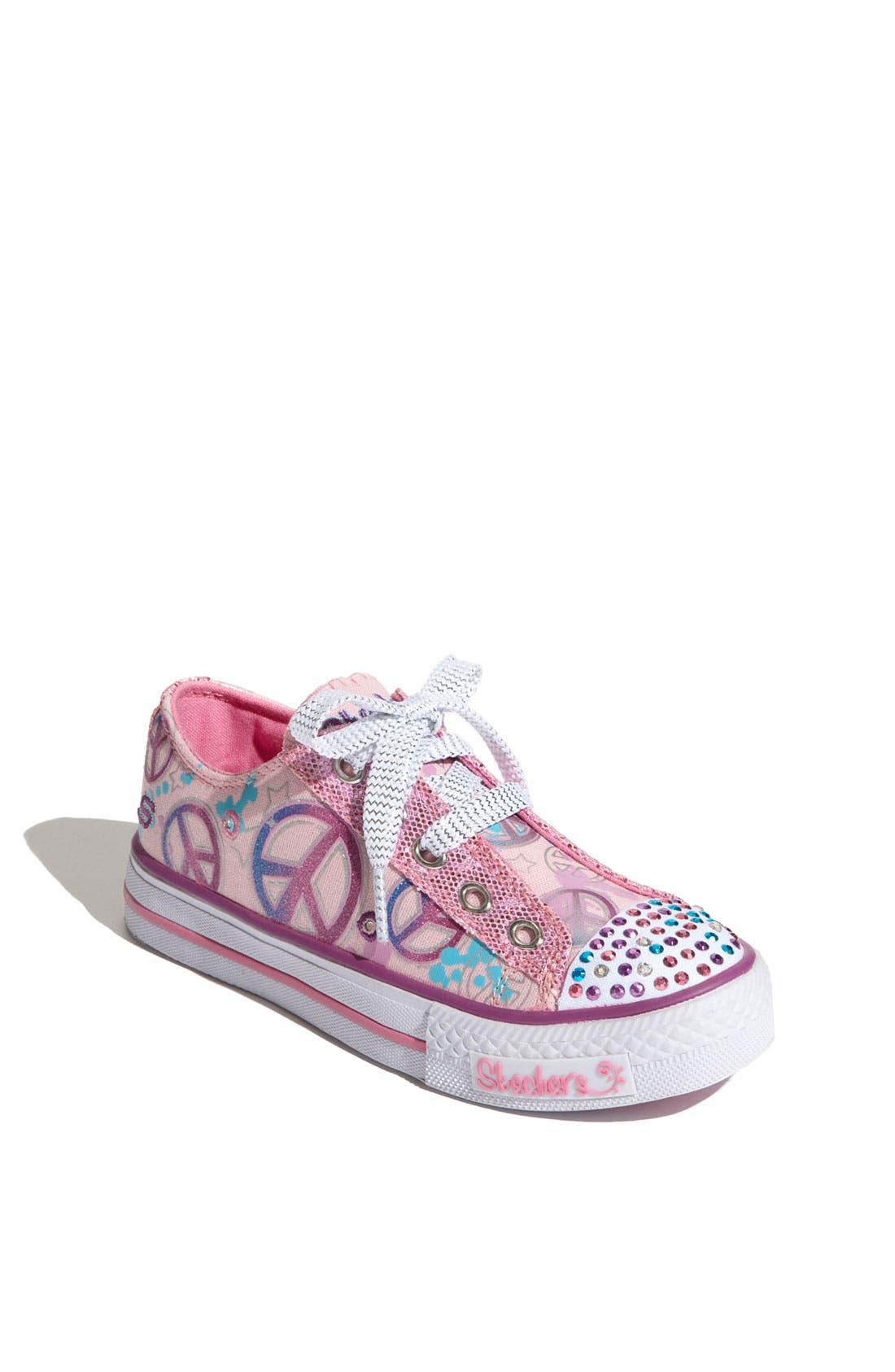 Alternate Image 1 Selected - SKECHERS 'Lovable' Sneaker (Toddler & Little Kid)