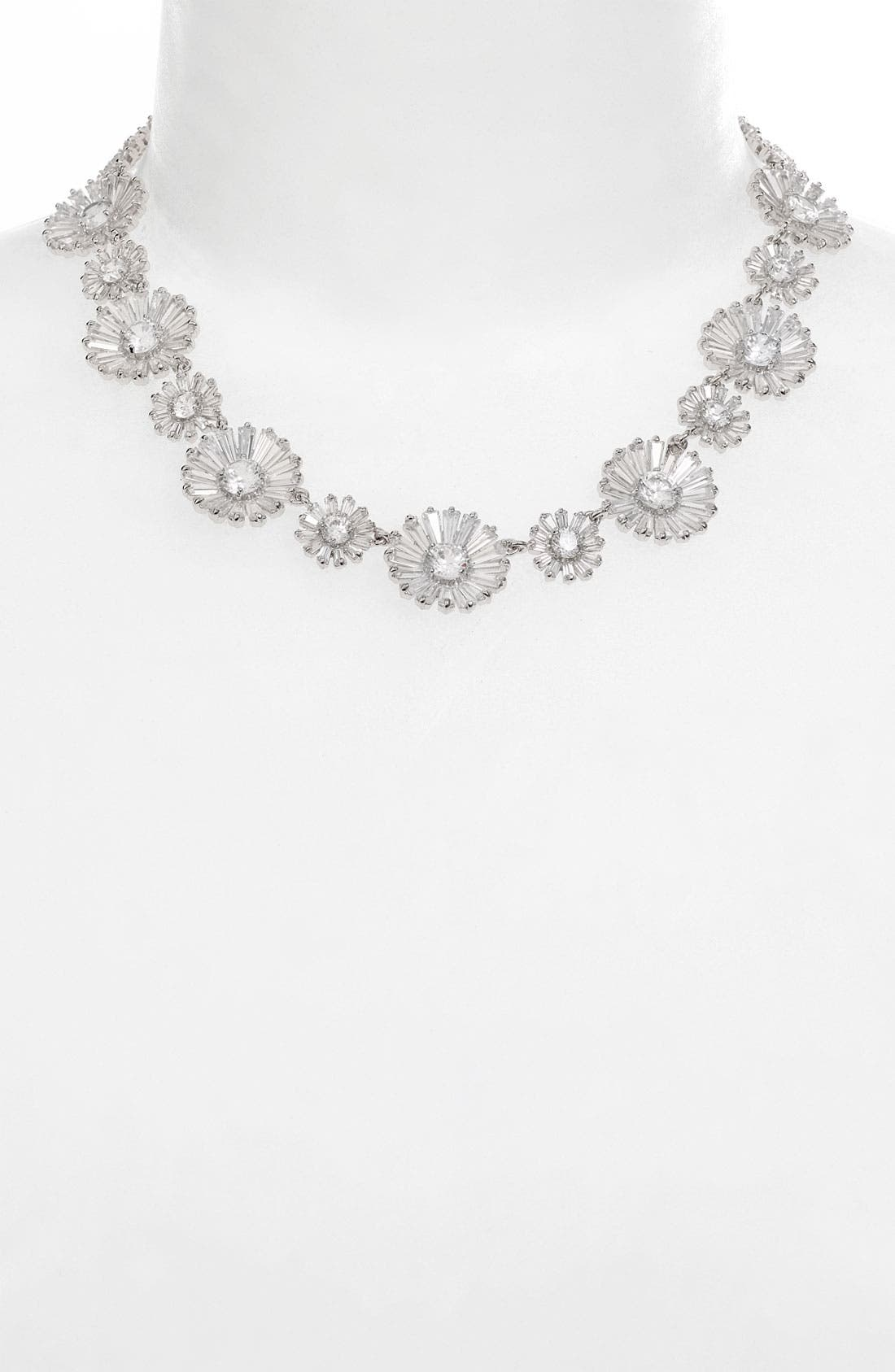 Alternate Image 1 Selected - kate spade new york 'crystal gardens' collar necklace