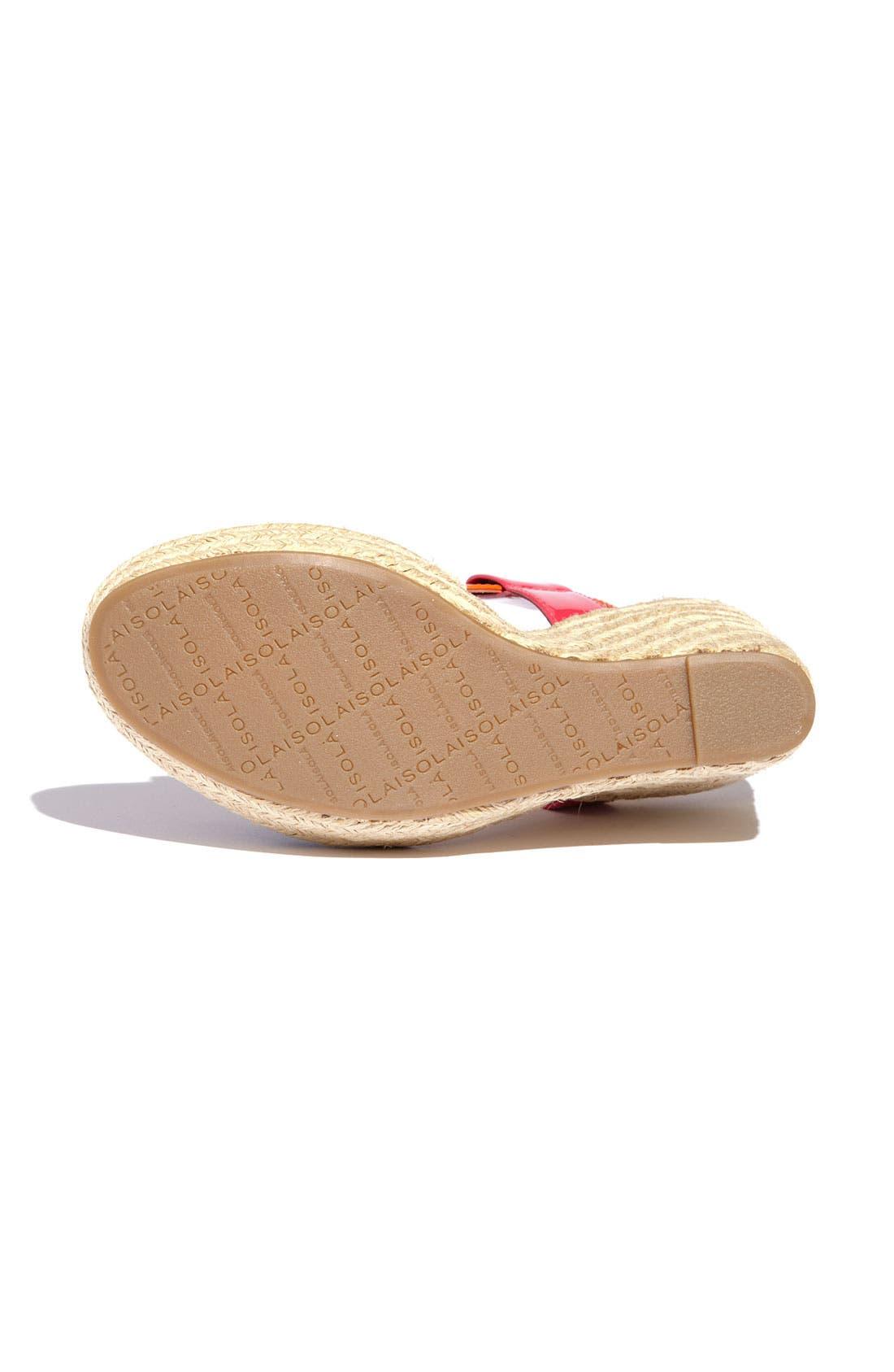 Alternate Image 4  - Isolá 'Olencia' Wedge Sandal