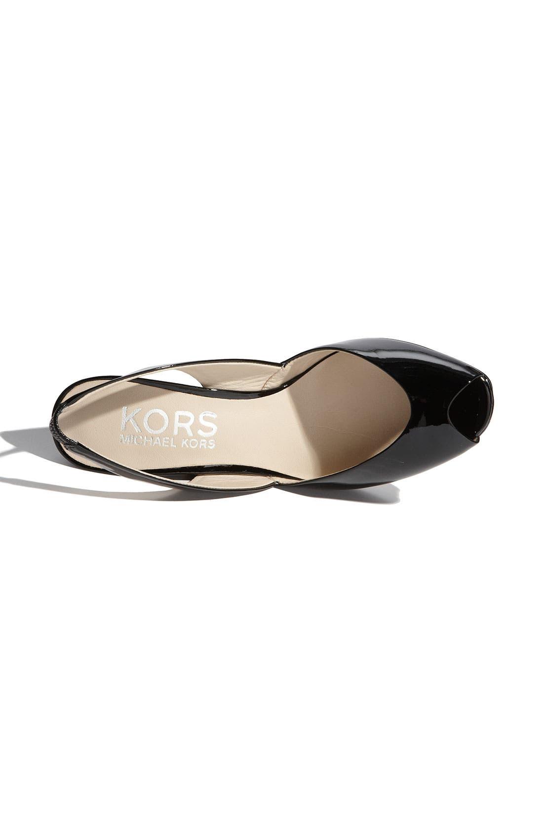 Alternate Image 3  - KORS Michael Kors 'Vivian' Wedge Sandal