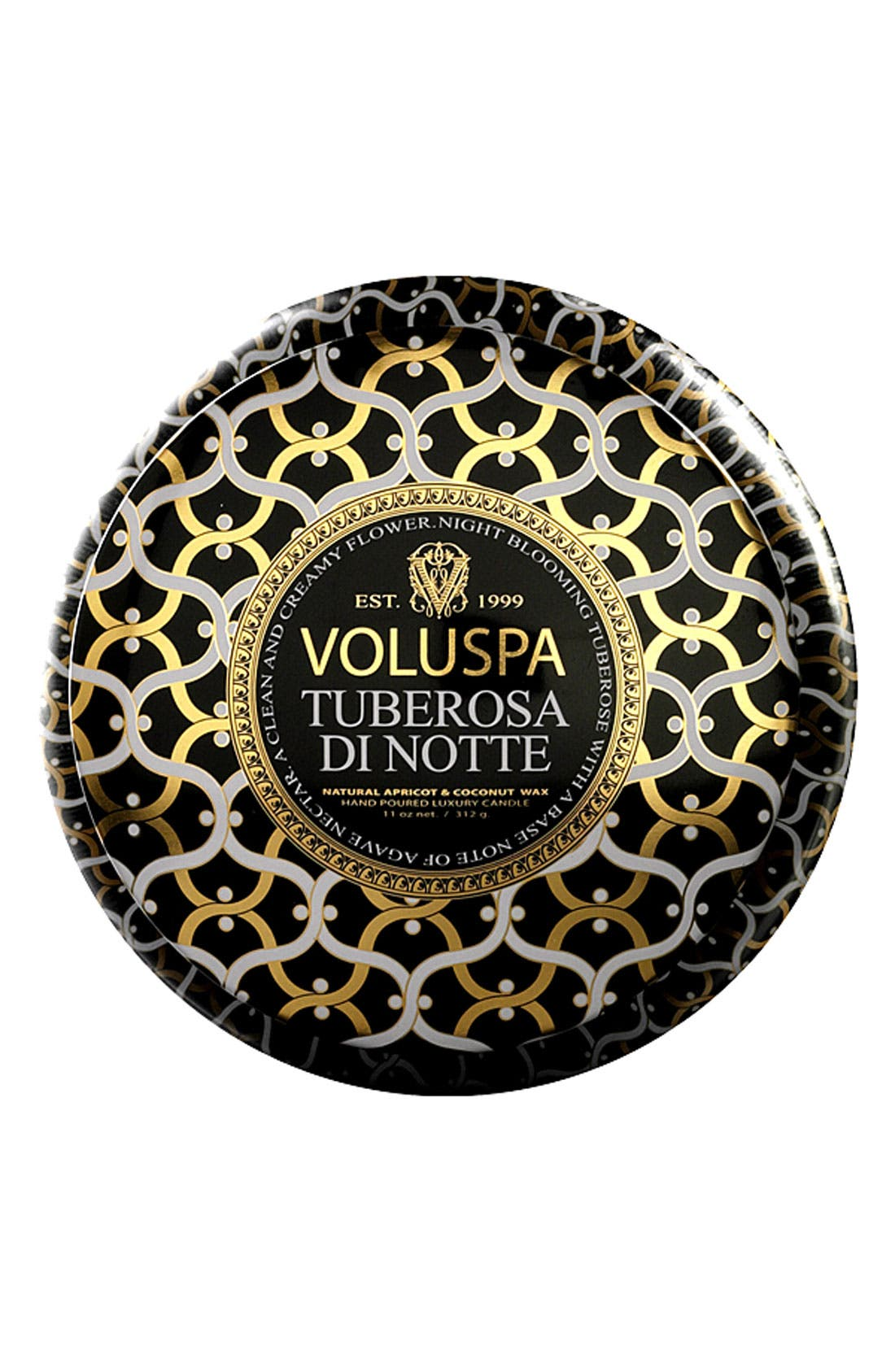 Alternate Image 1 Selected - Voluspa 'Maison Noir - Tuberosa di Notte' 2-Wick Scented Candle