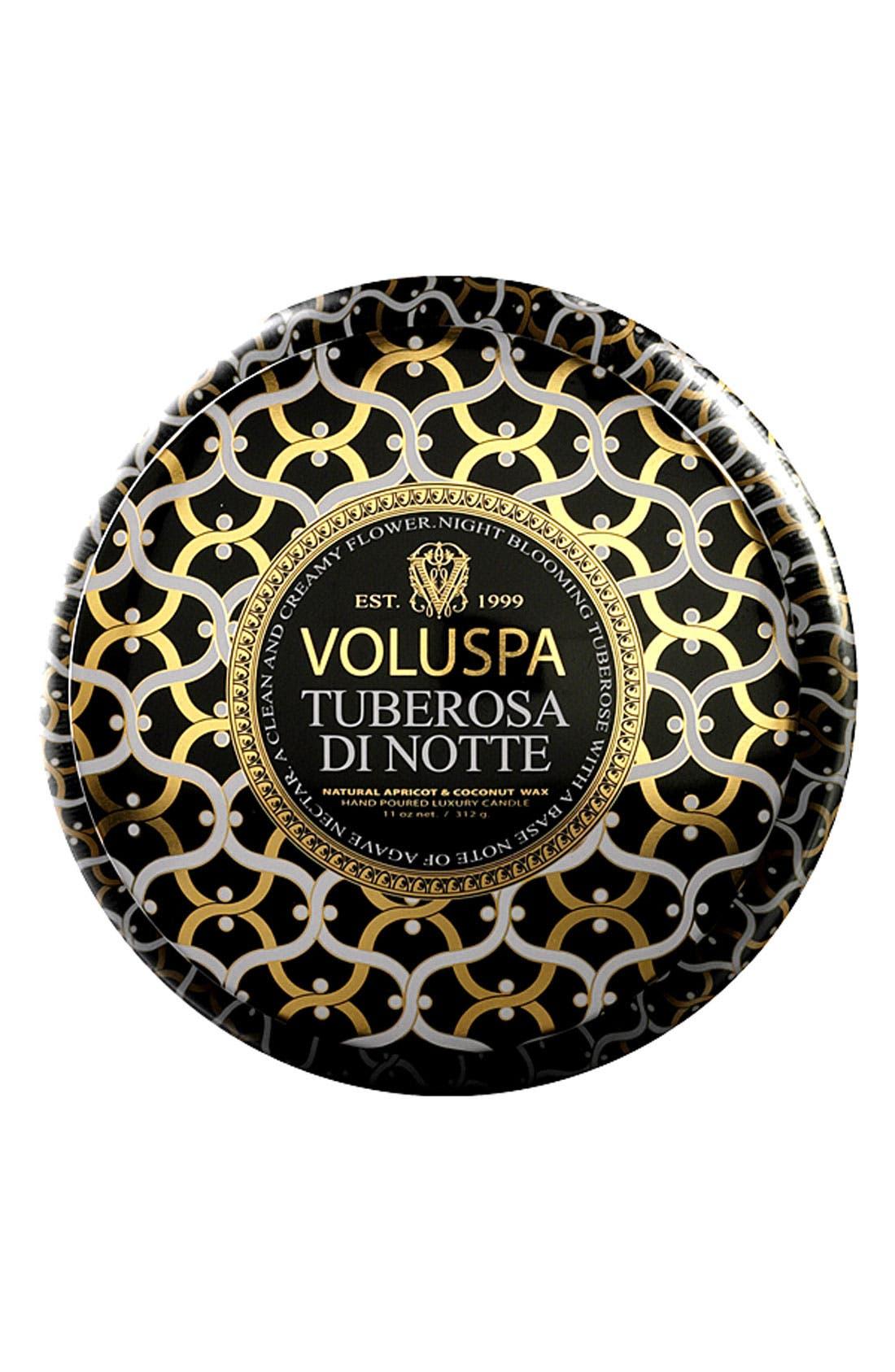 Main Image - Voluspa 'Maison Noir - Tuberosa di Notte' 2-Wick Scented Candle