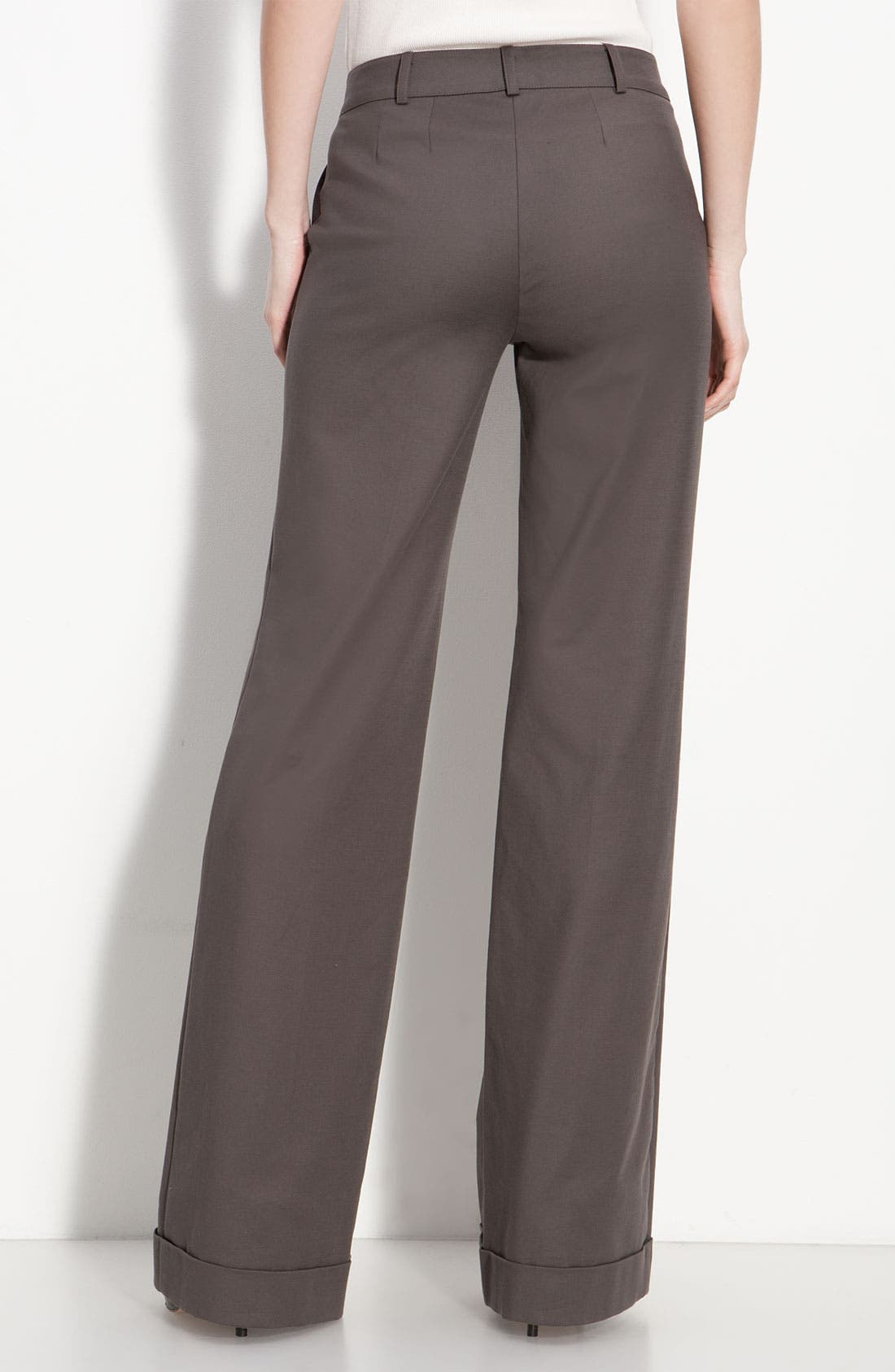 Alternate Image 2  - St. John Collection Cuffed Wide Leg Pants