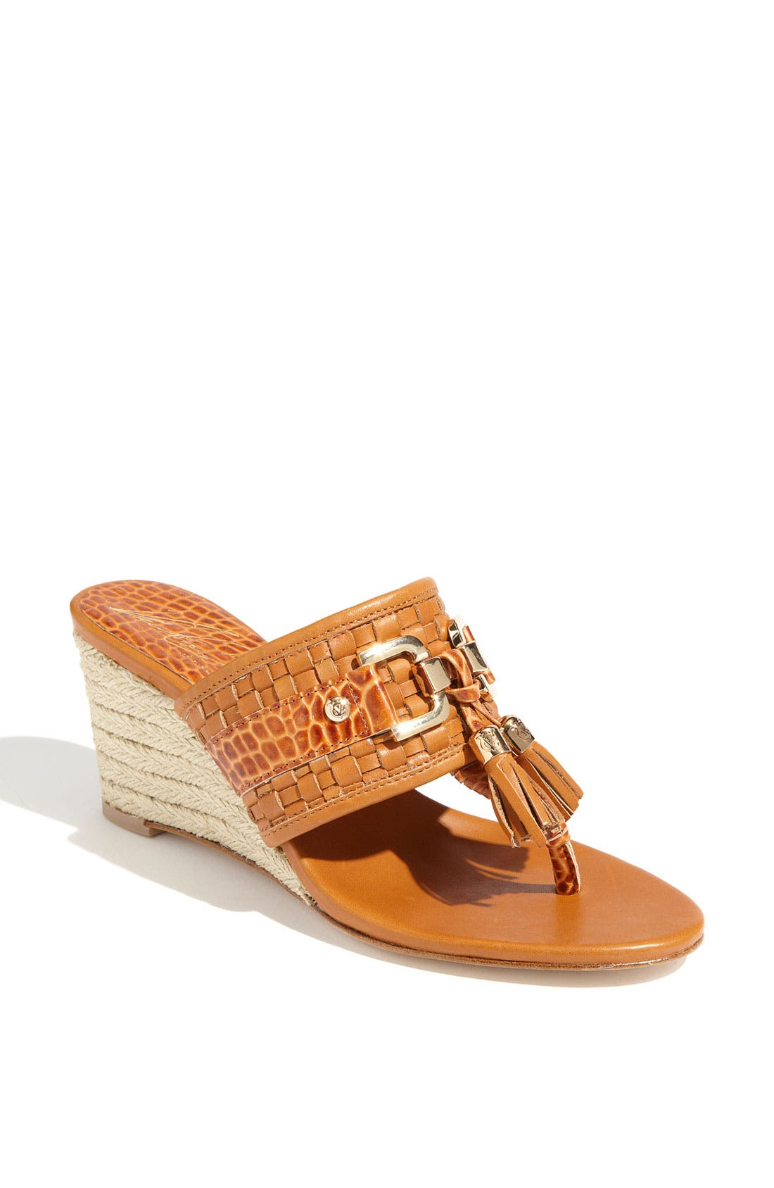 Alternate Image 1 Selected - VC Signature 'Jaclyn' Wedge Sandal