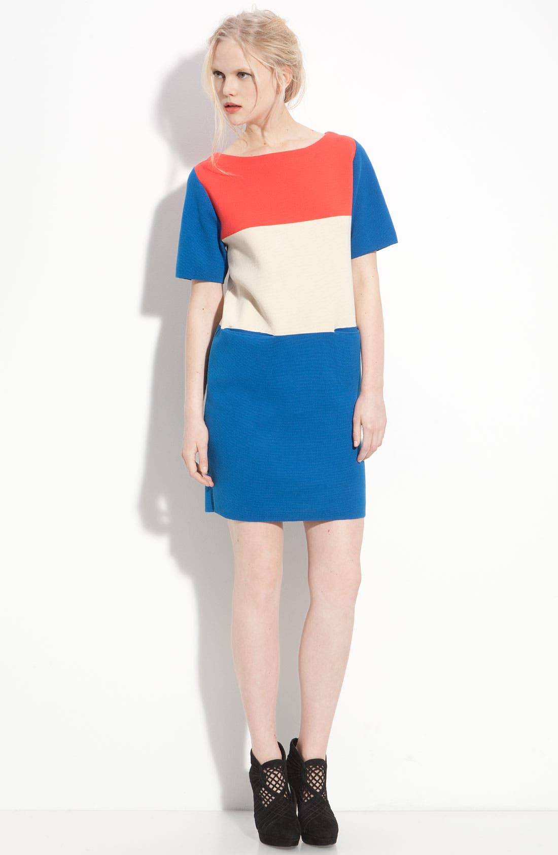 Alternate Image 4  - MARC BY MARC JACOBS 'Norwood' Colorblock Sweater Dress