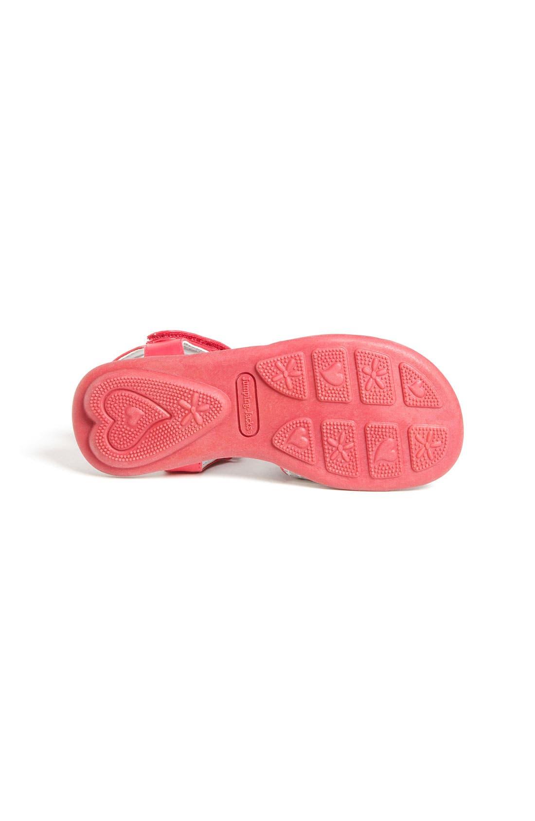 Alternate Image 4  - Jumping Jacks 'Dazzle' Sandal (Walker, Toddler, Little Kid & Big Kid)
