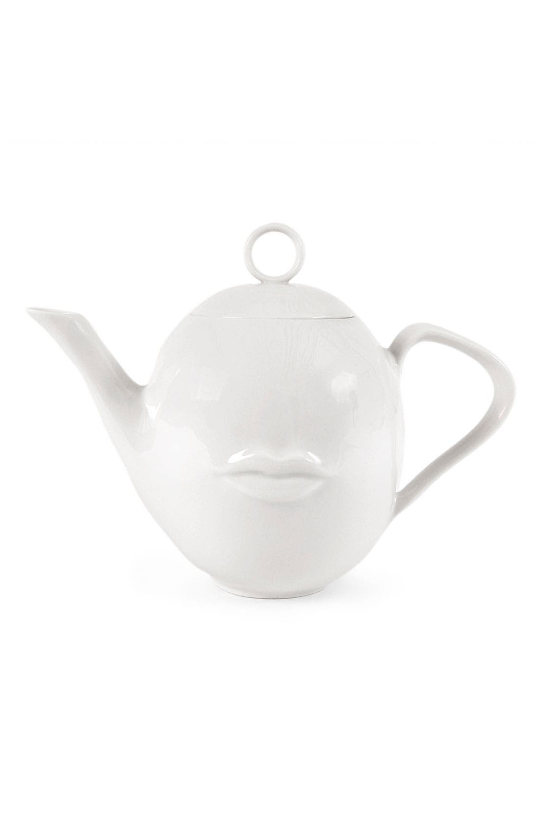 Alternate Image 2  - Jonathan Adler 'Muse' Porcelain Teapot