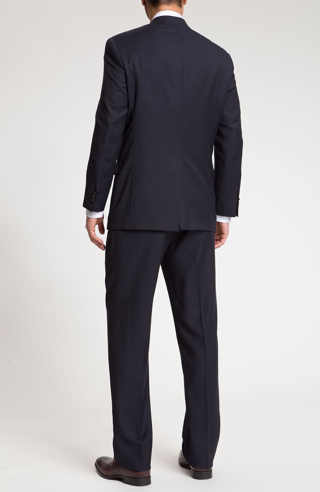 Alternate Image 3  - Hart Schaffner Marx Pinstripe Wool Suit