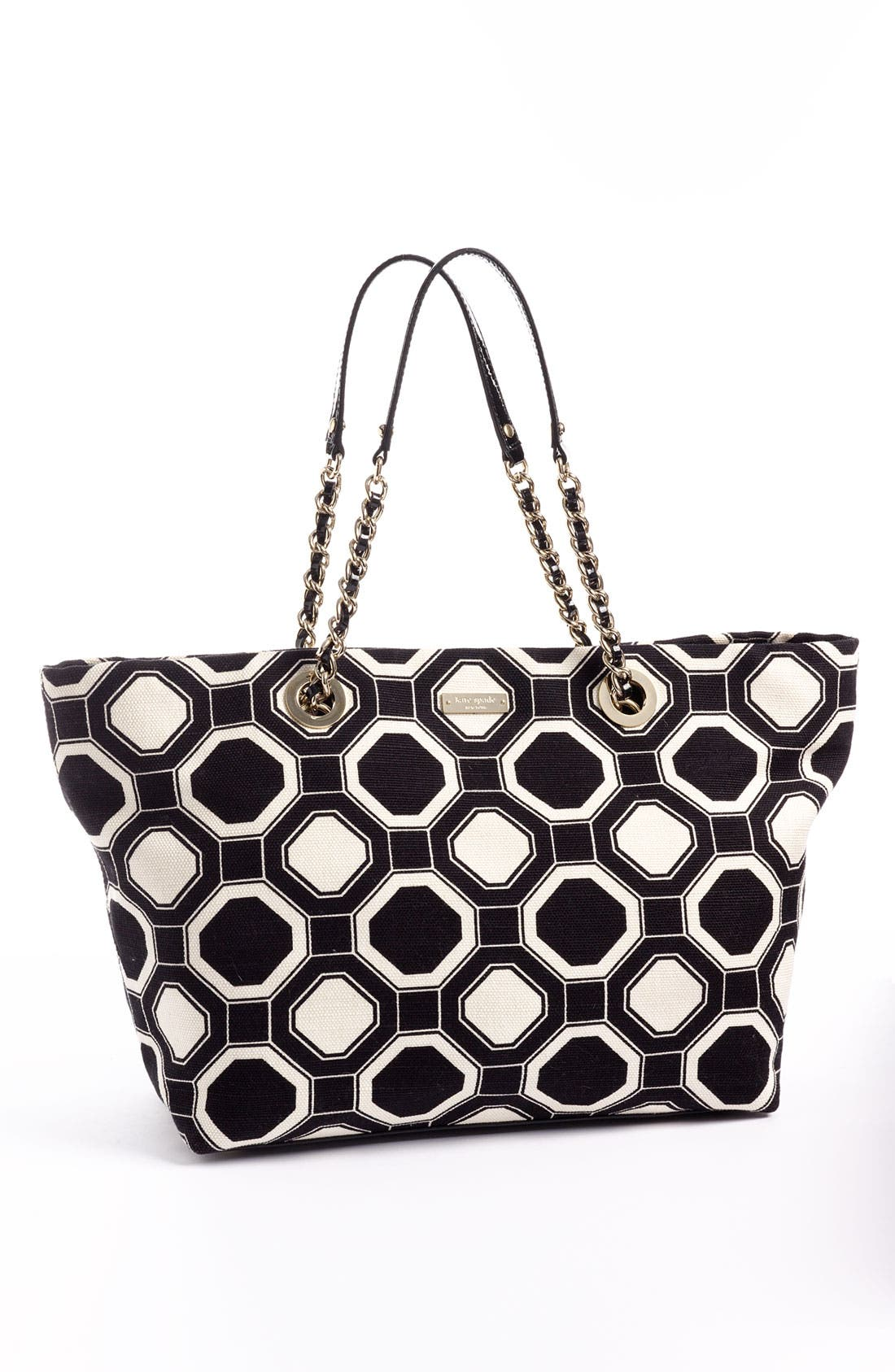 Alternate Image 5  - kate spade new york 'coal - small' fabric tote