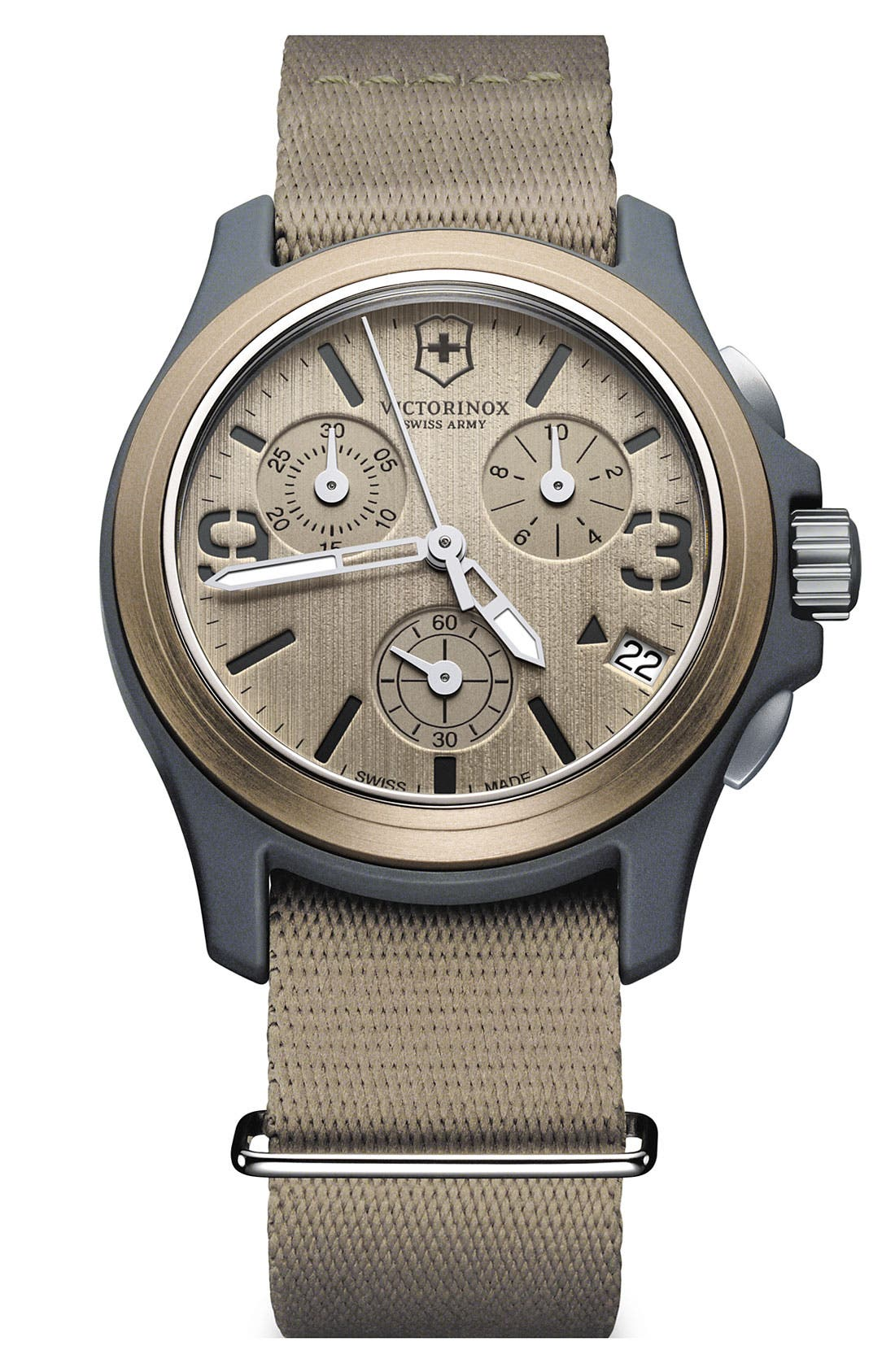 Main Image - Victorinox Swiss Army® 'Original' Chronograph Watch, 40mm