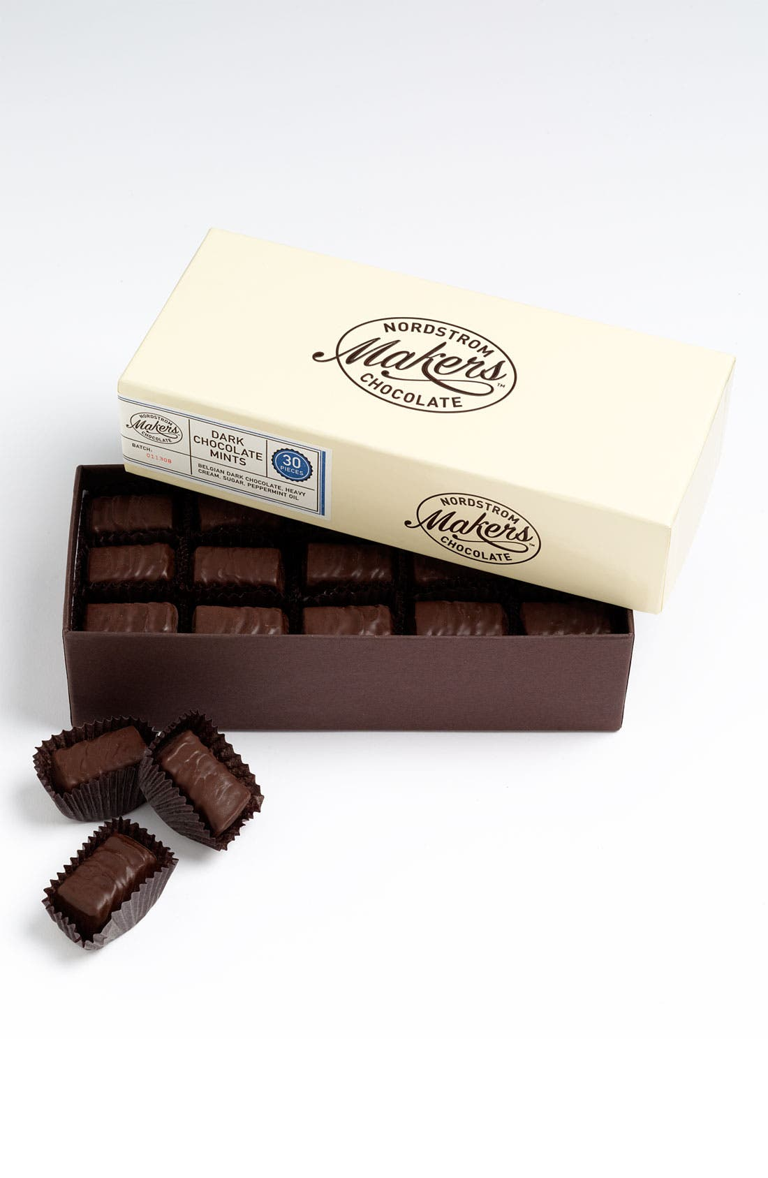 Main Image - Nordstrom Makers Chocolate Dark Chocolate Mints (30 Pieces)