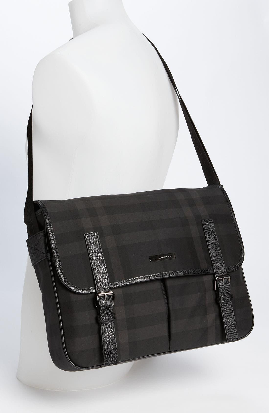 Alternate Image 5  - Burberry Medium Check Messenger Bag