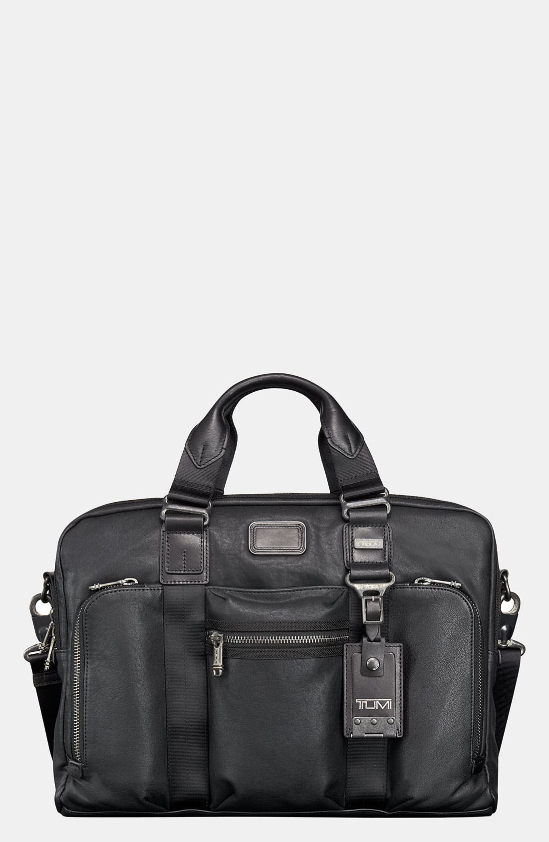Alternate Image 1 Selected - Tumi 'Alpha Bravo - McNair' Slim Leather Briefcase