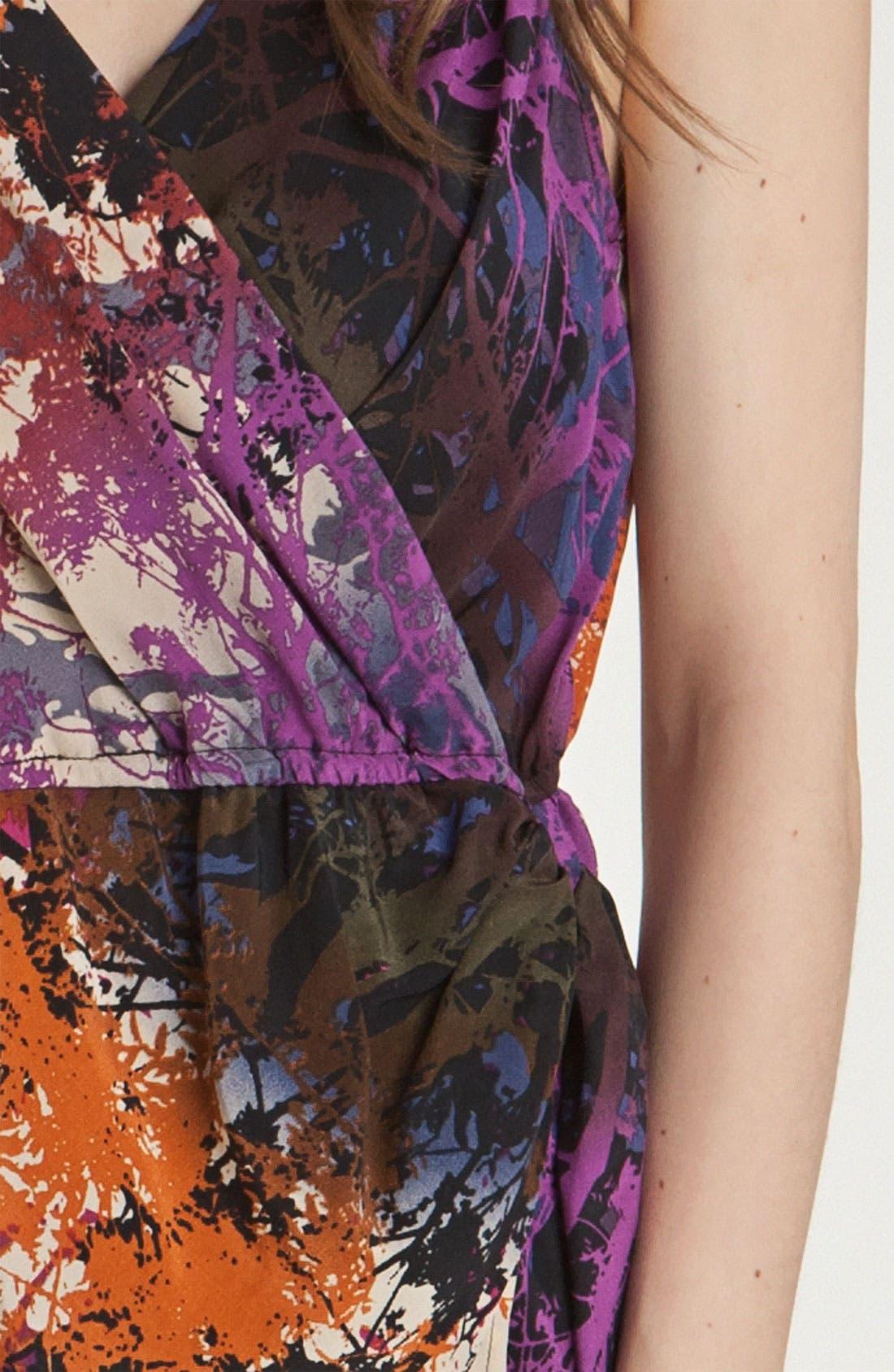 Alternate Image 3  - Charlie Jade 'Marie' Print Faux Wrap Dress
