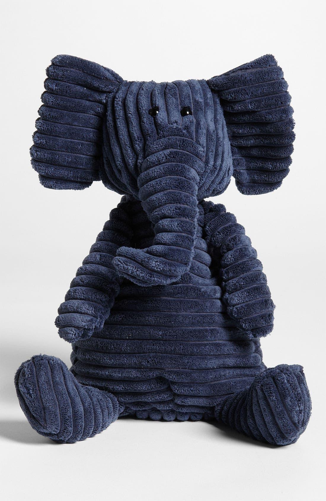 'Cordy Roy Elephant' Stuffed Animal,                         Main,                         color, Blue