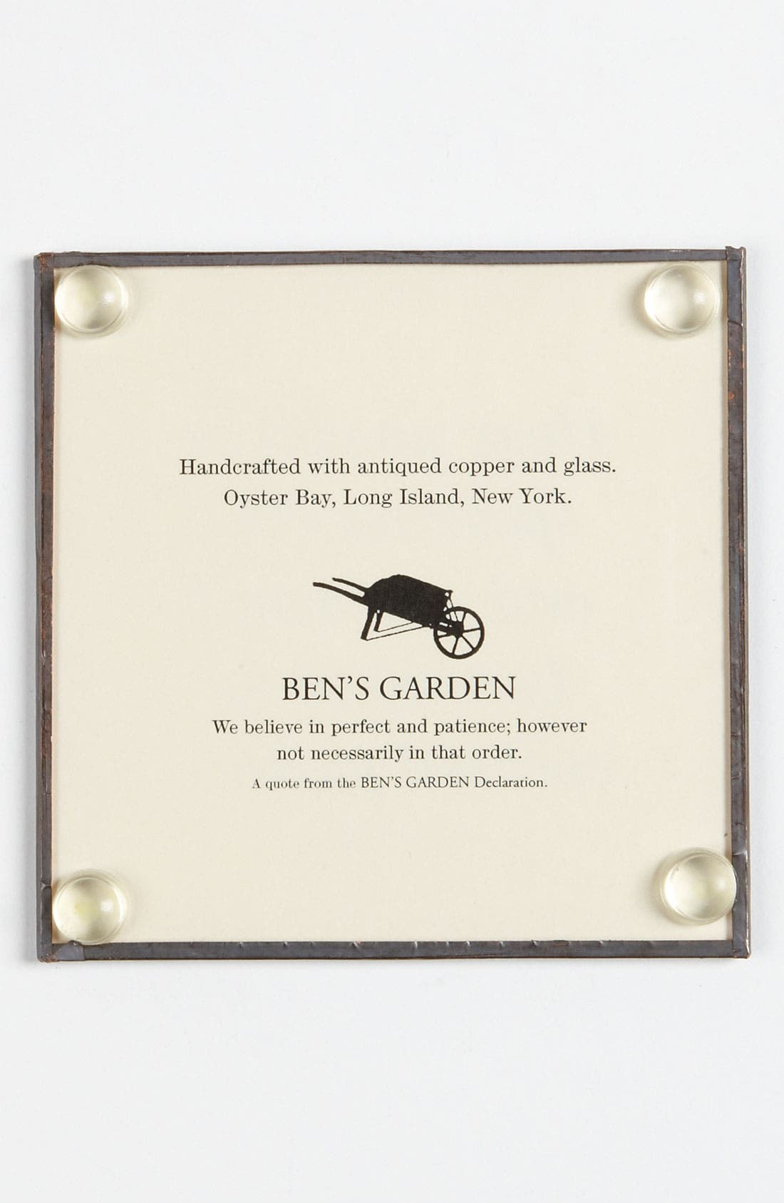 Alternate Image 2  - Ben's Garden 'The Ornament of a House' Coaster Set