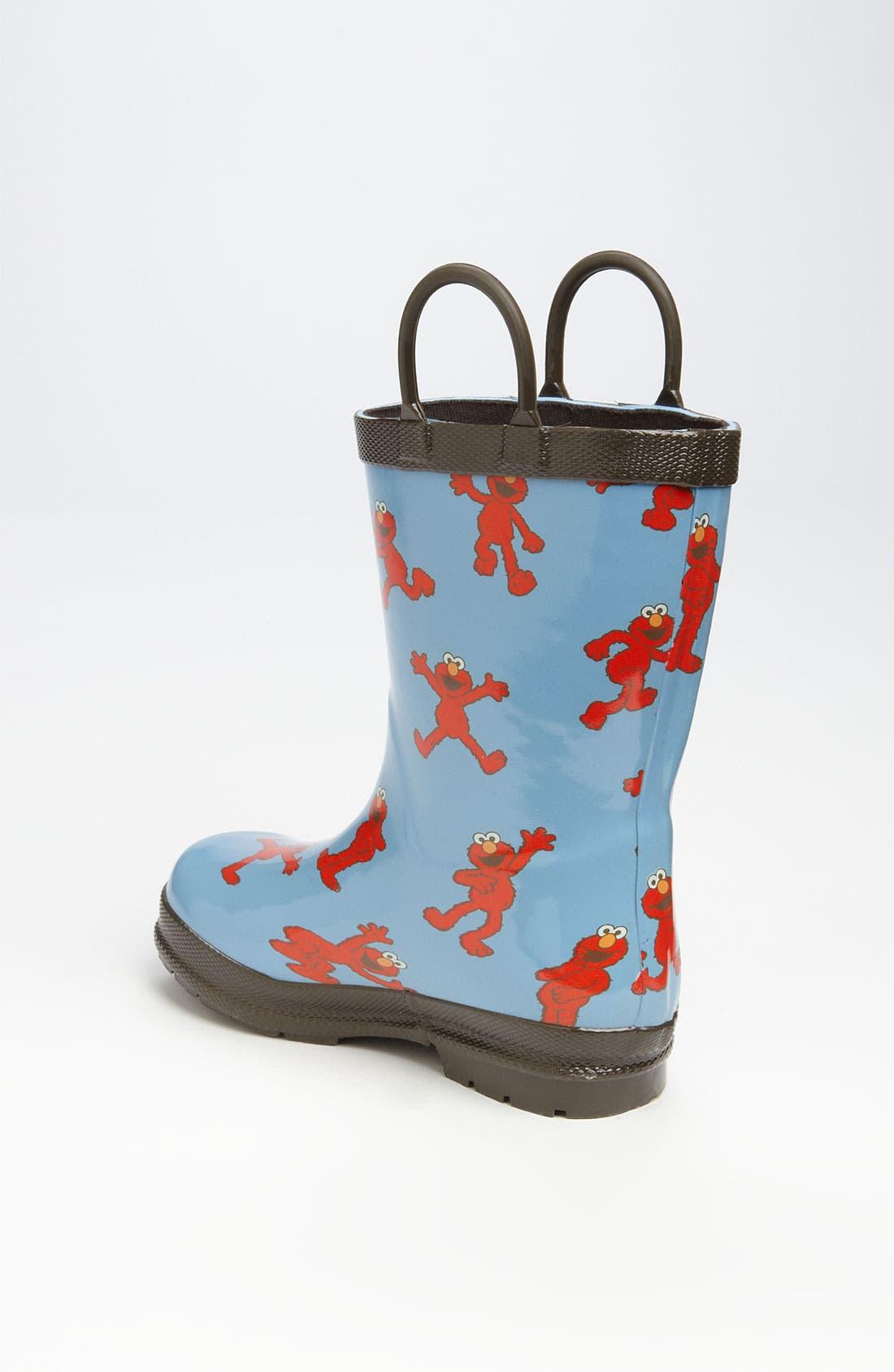 Alternate Image 2  - Hatley 'Sesame Street® - Elmo' Rain Boot (Walker & Toddler)