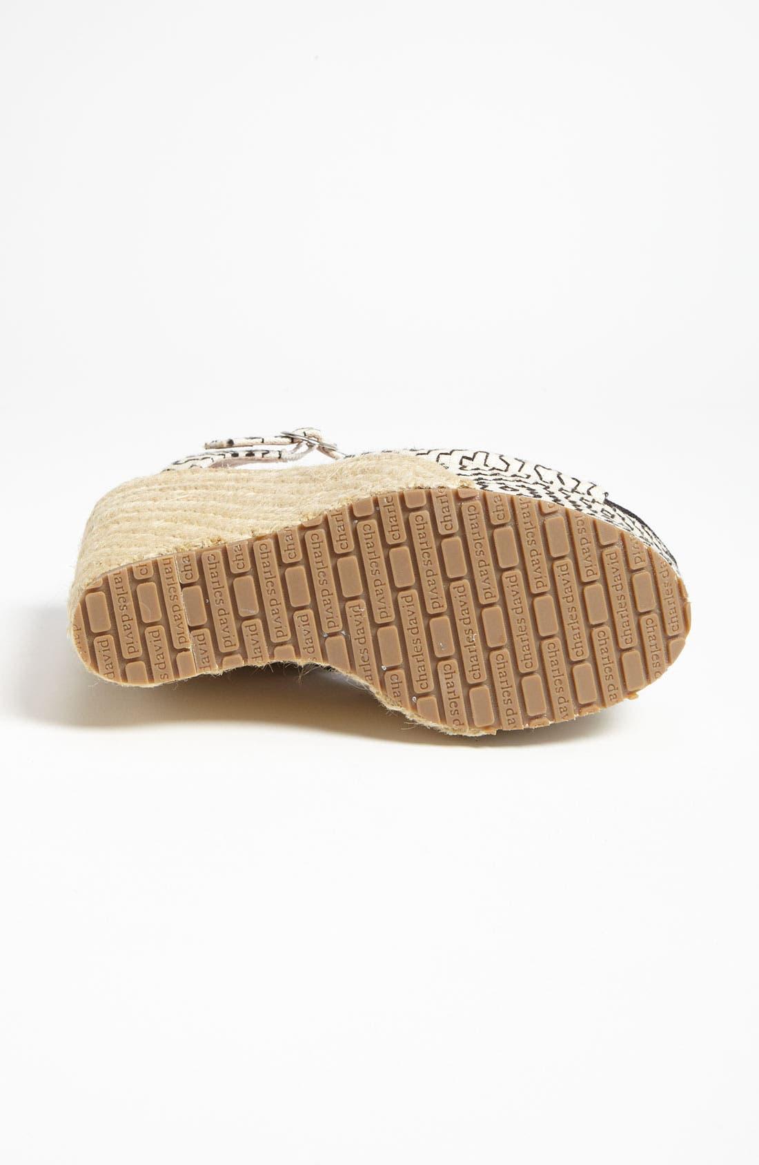 Alternate Image 4  - Charles David 'Baja' Sandal