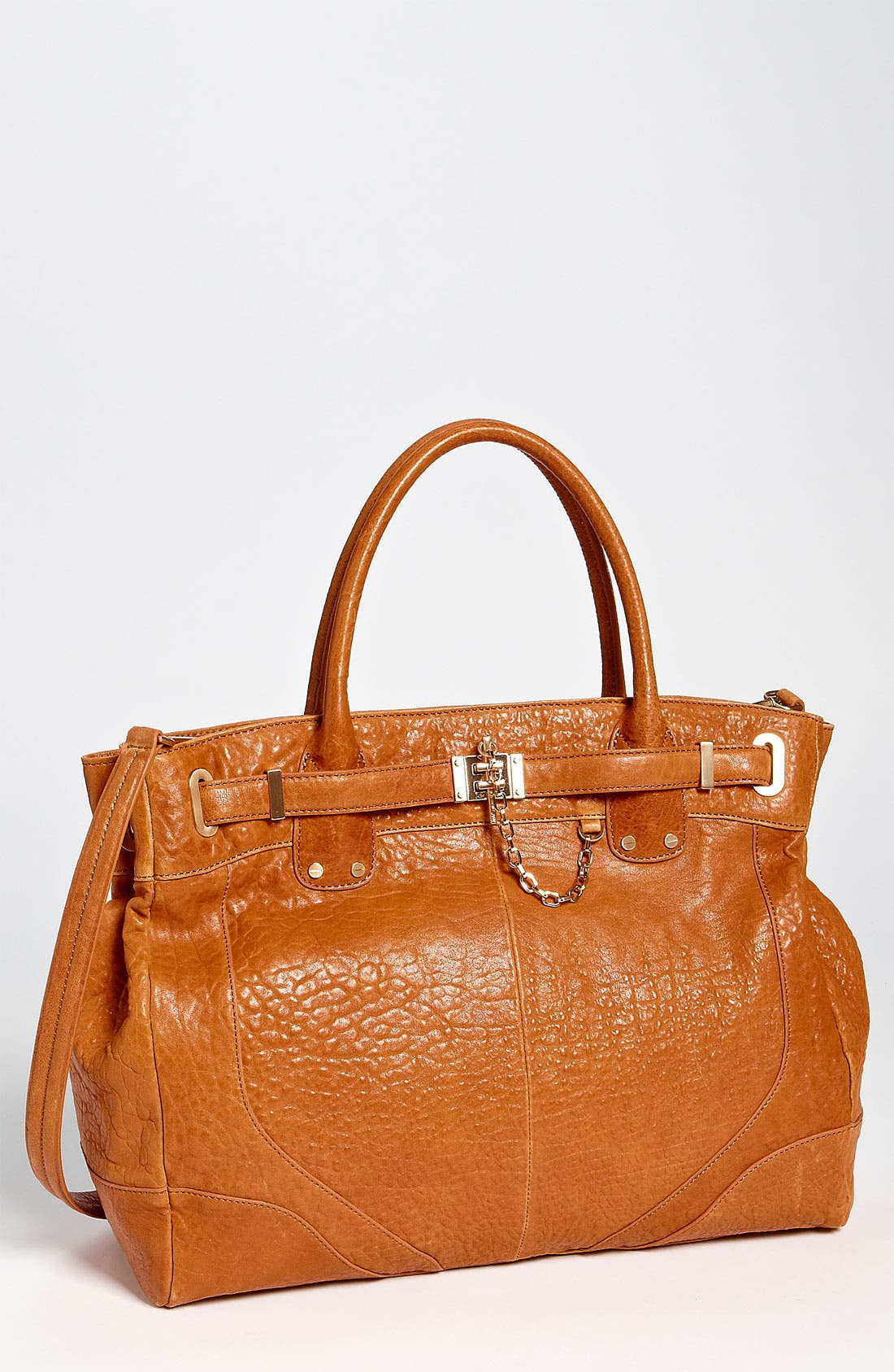 Belted Satchel,                         Main,                         color, Camel