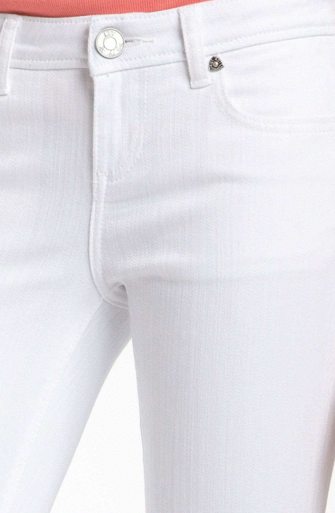 Alternate Image 2  - KUT from the Kloth 'Catherine' Slim Boyfriend Jeans (White Wash)
