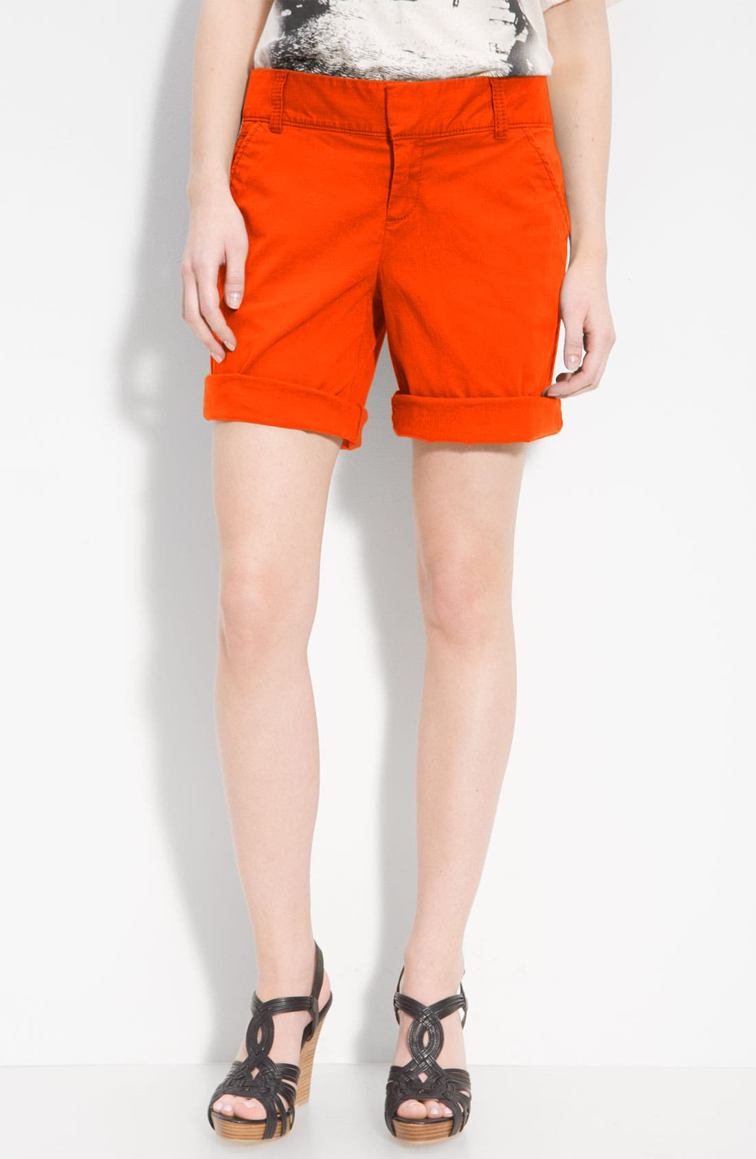 Main Image - Caslon® Stretch Twill Shorts