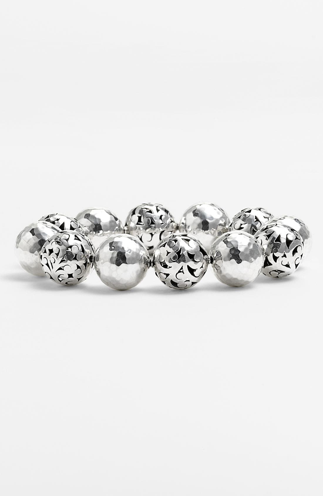 Alternate Image 1 Selected - Lois Hill 'Ball & Chain' Stretch Bracelet