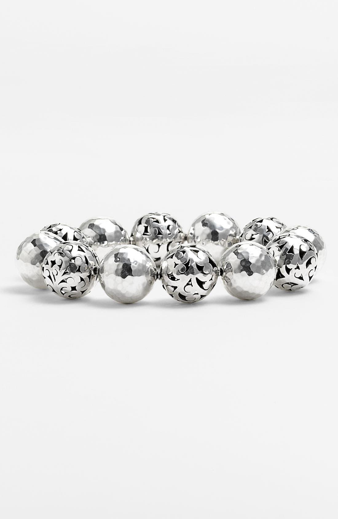 Main Image - Lois Hill 'Ball & Chain' Stretch Bracelet