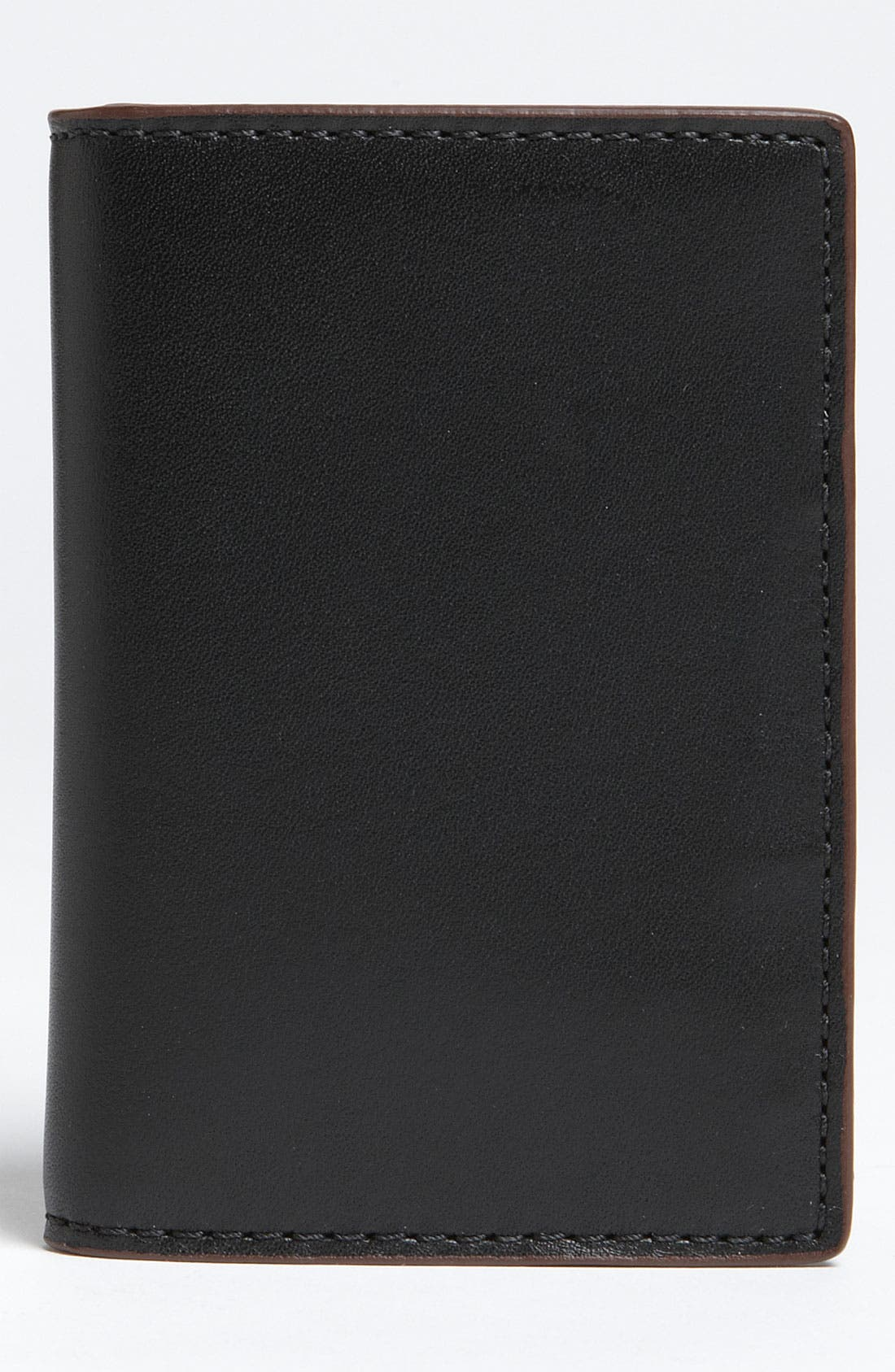 Alternate Image 1 Selected - Jack Spade 'Vertical Flap' Mill Leather Wallet