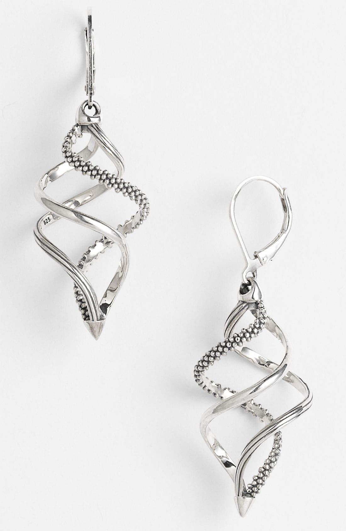 Main Image - LAGOS 'Unlaced' Swirl Earrings