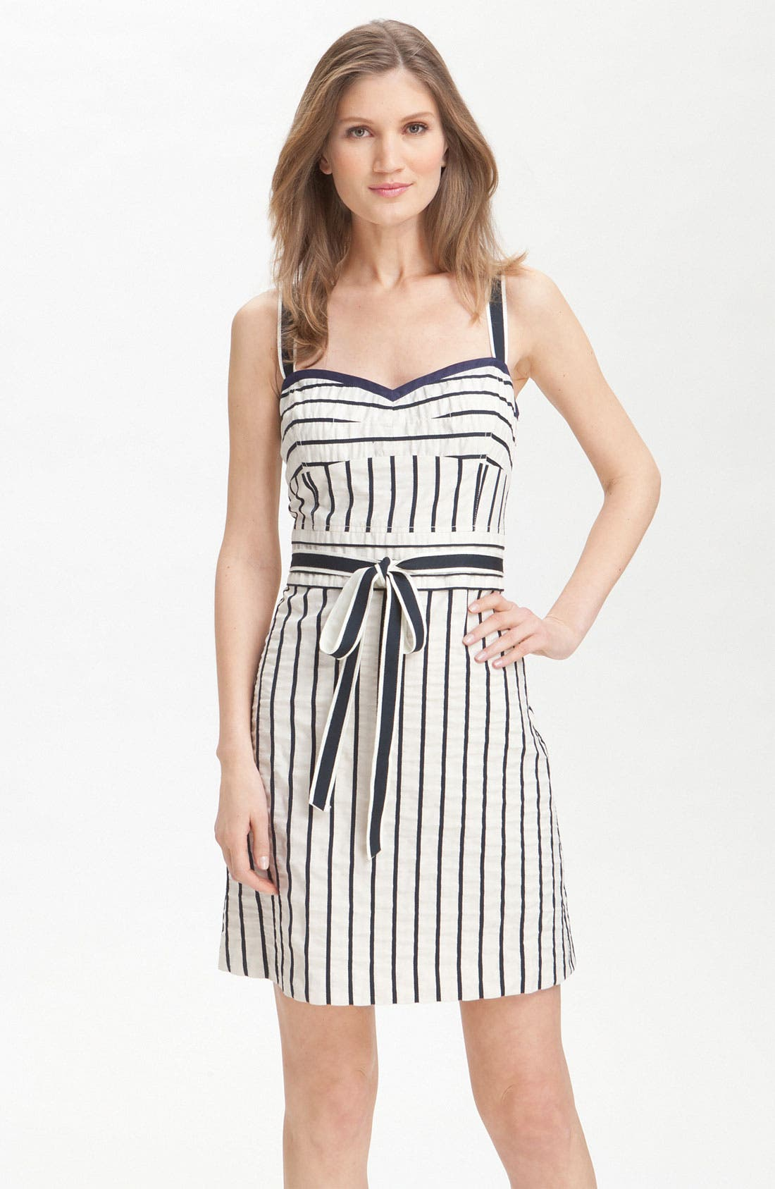 Main Image - Tory Burch 'Kinsley' Nautical Stripe Sundress