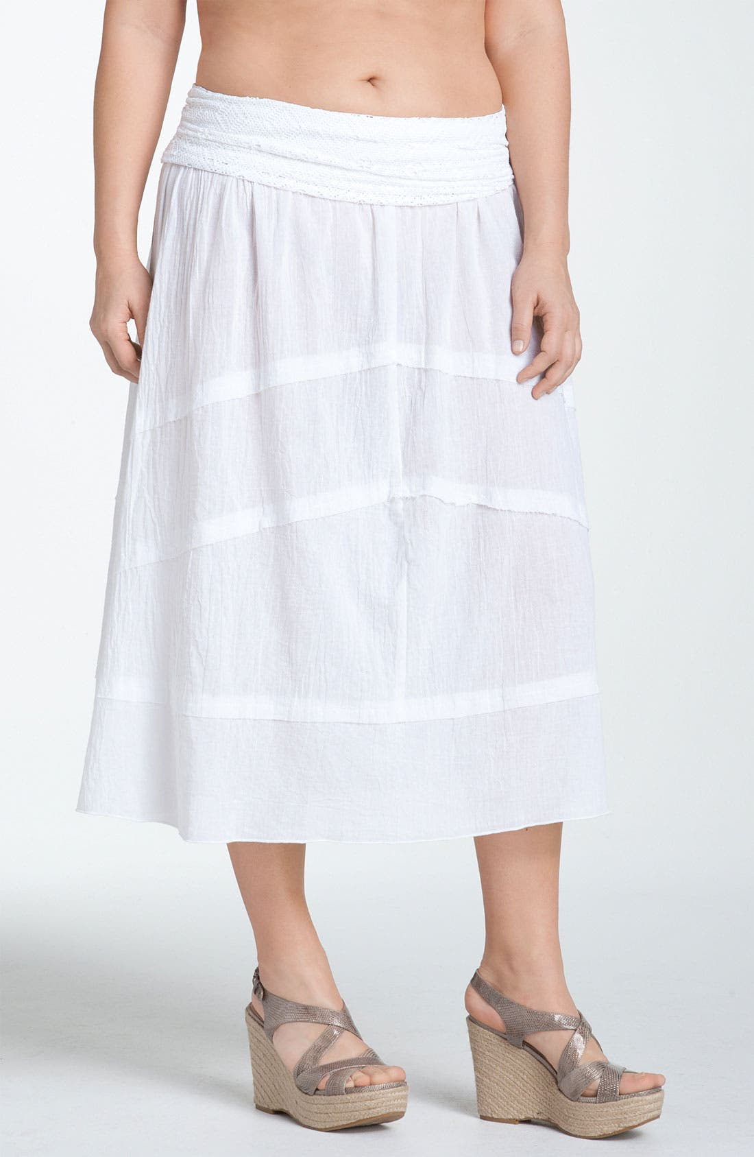Alternate Image 2  - Becca 'Lighten Up' Convertible Cover-Up Dress (Plus)