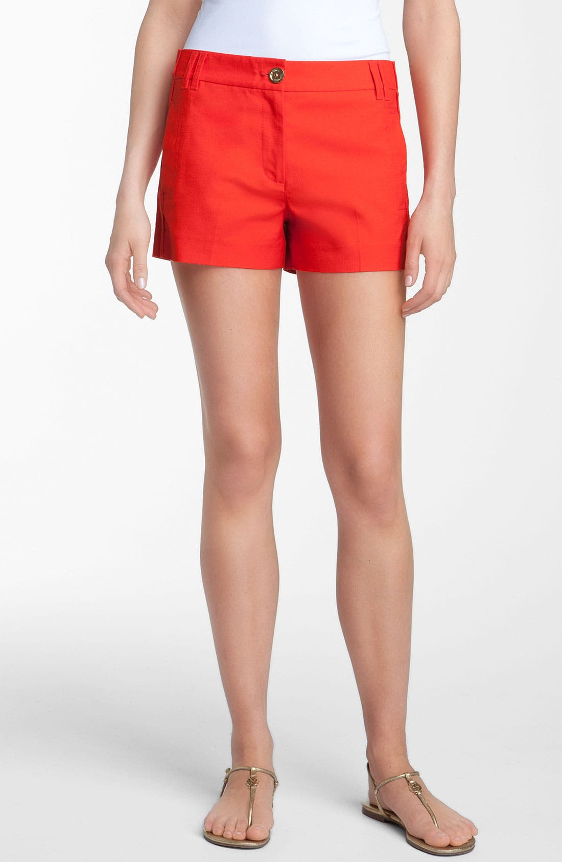 Main Image - Tory Burch 'Shearer' Shorts