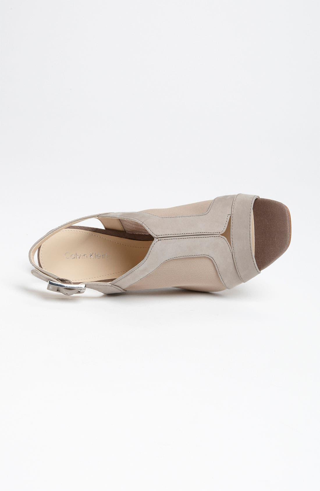 Alternate Image 3  - Calvin Klein 'Lisah' Sandal