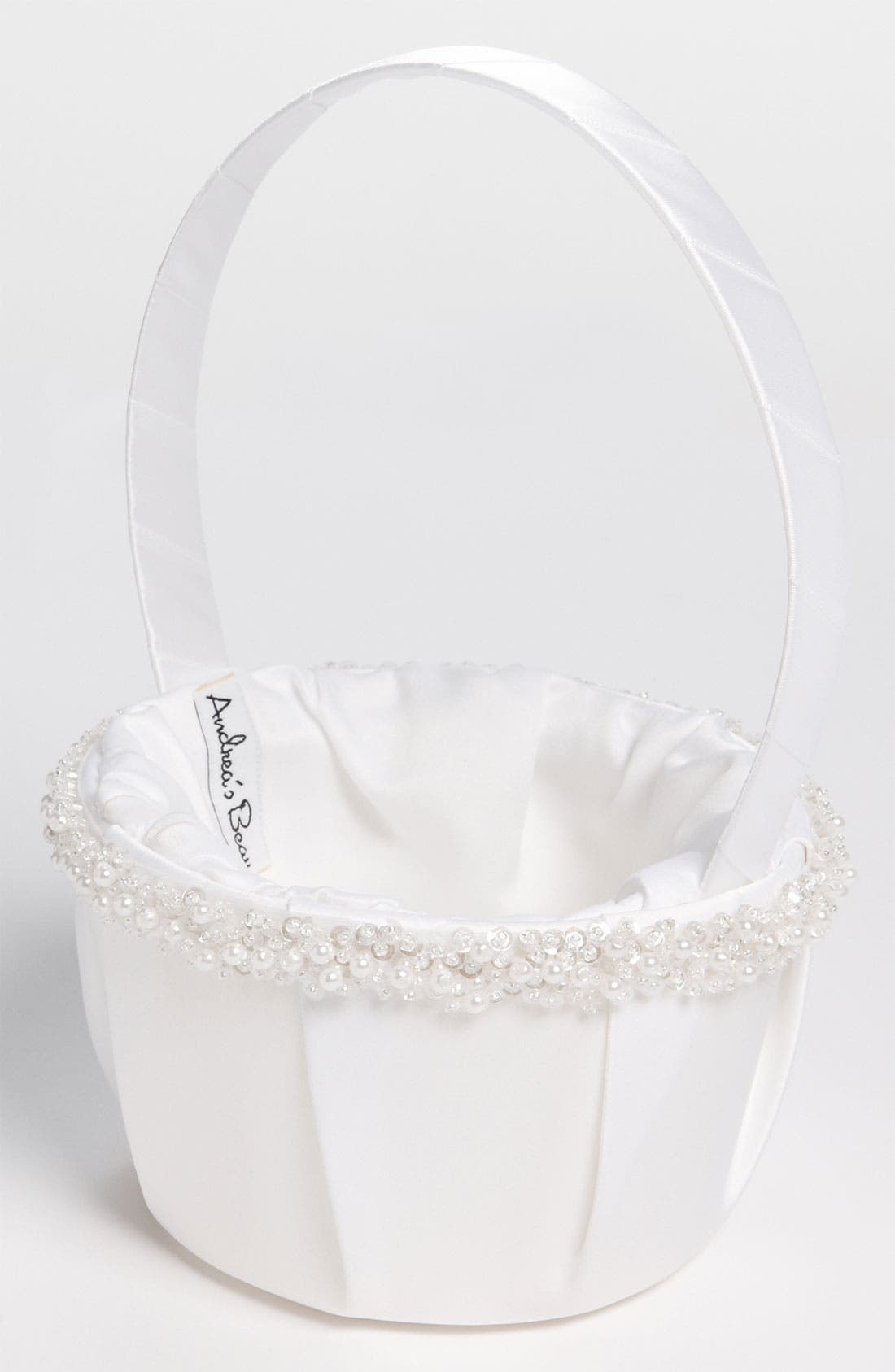 Main Image - Andrea's Beau Flower Girl Basket