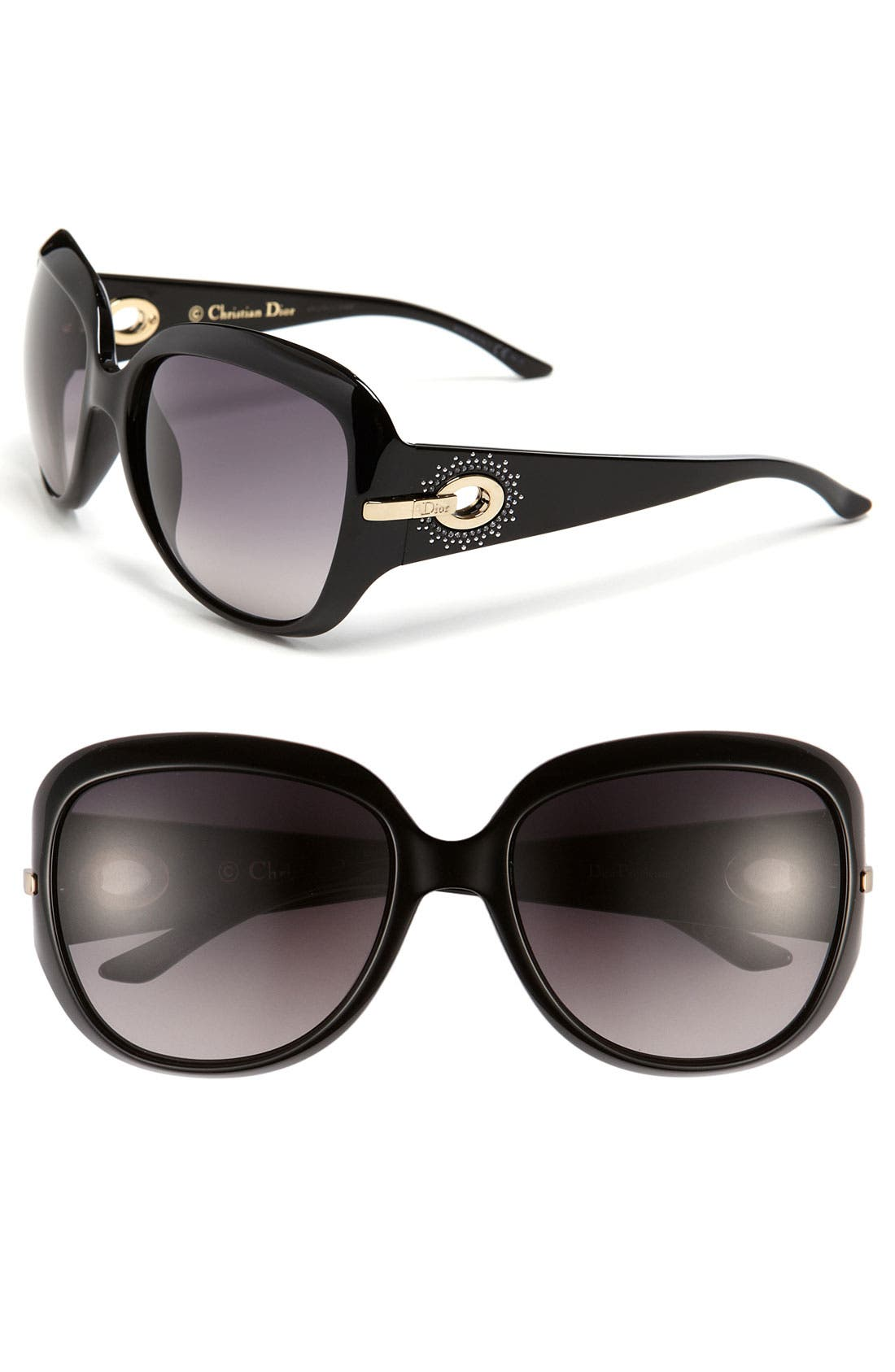 Main Image - Dior 57mm Oversized Sunglasses