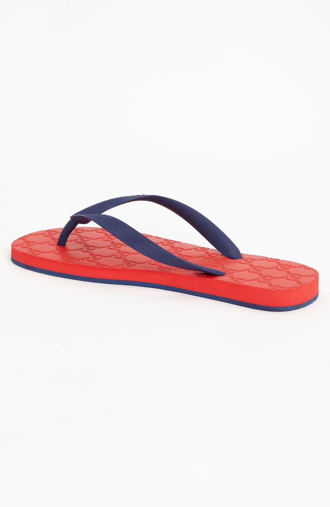 Alternate Image 2  - Gucci 'Bedlam' Flip Flop