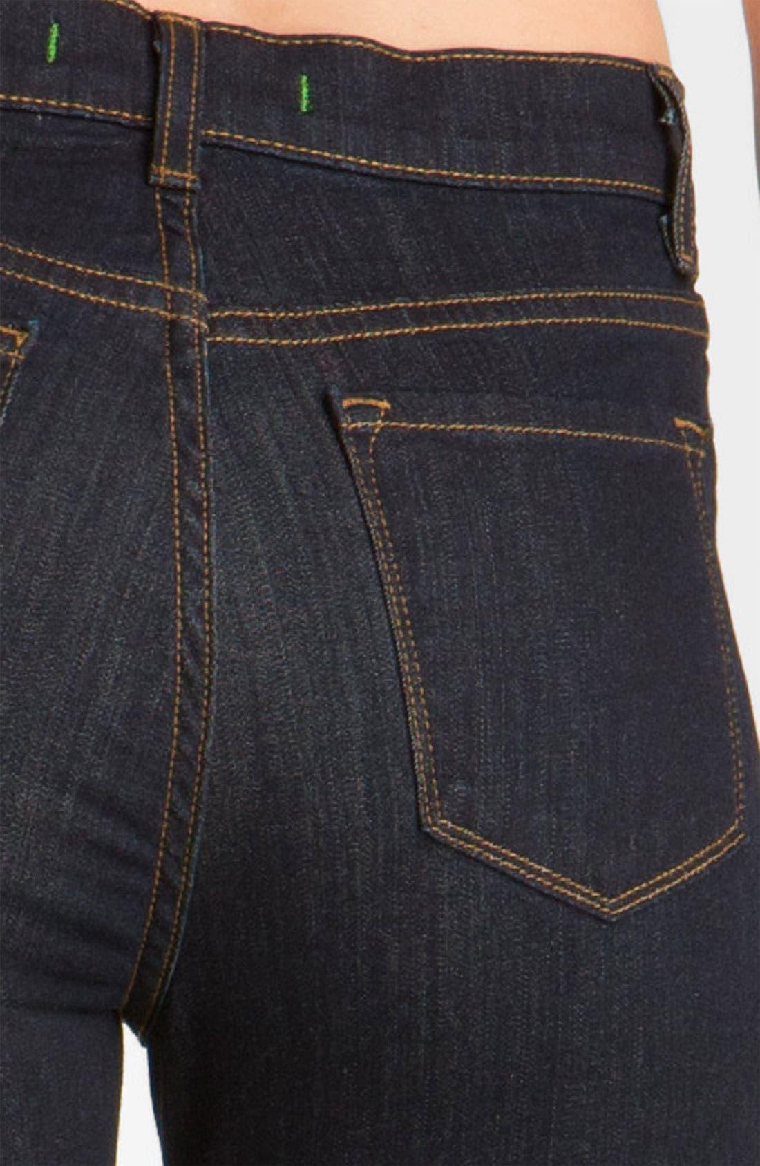 Alternate Image 3  - J Brand 'Maria' Crop Skinny Stretch Jeans (Starless)