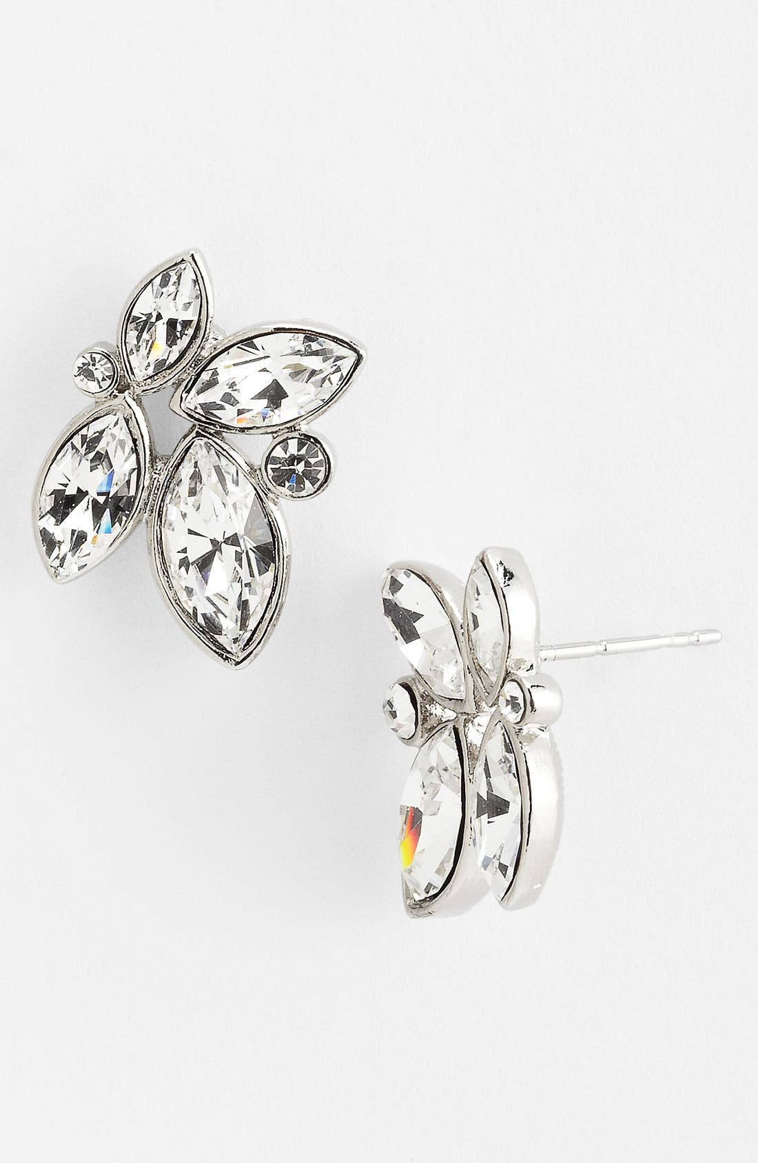 Alternate Image 1 Selected - Nina 'Passion' Floral Cluster Stud Earrings