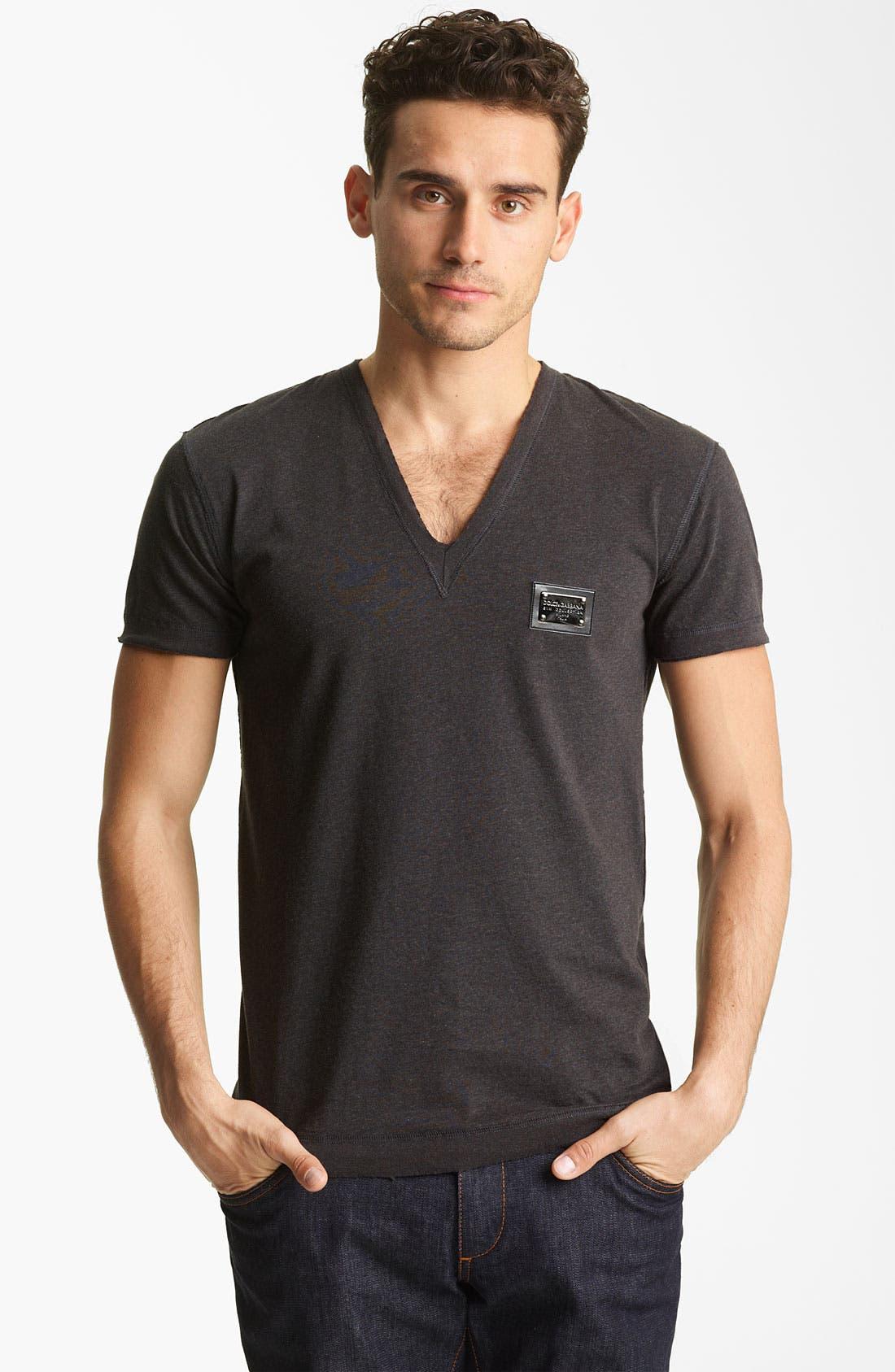Alternate Image 1 Selected - Dolce&Gabbana V-Neck T-Shirt