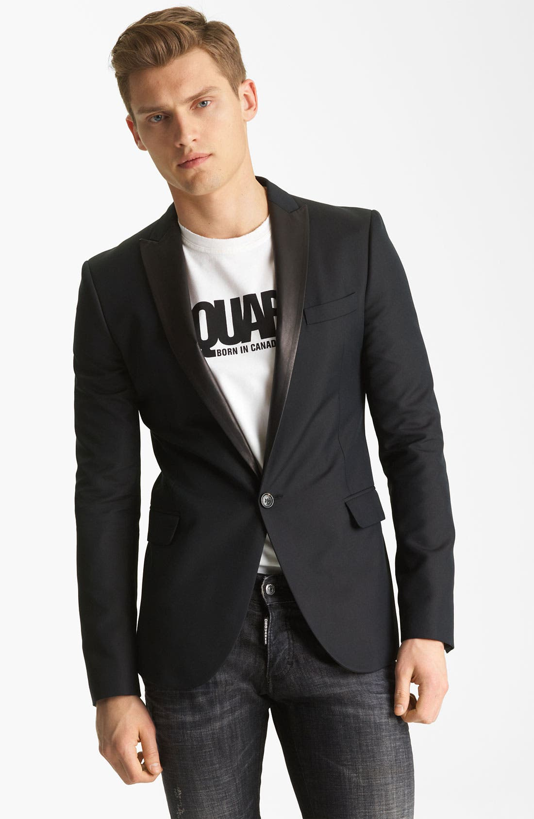 Alternate Image 1 Selected - Dsquared2 'Seattle' Tuxedo Jacket