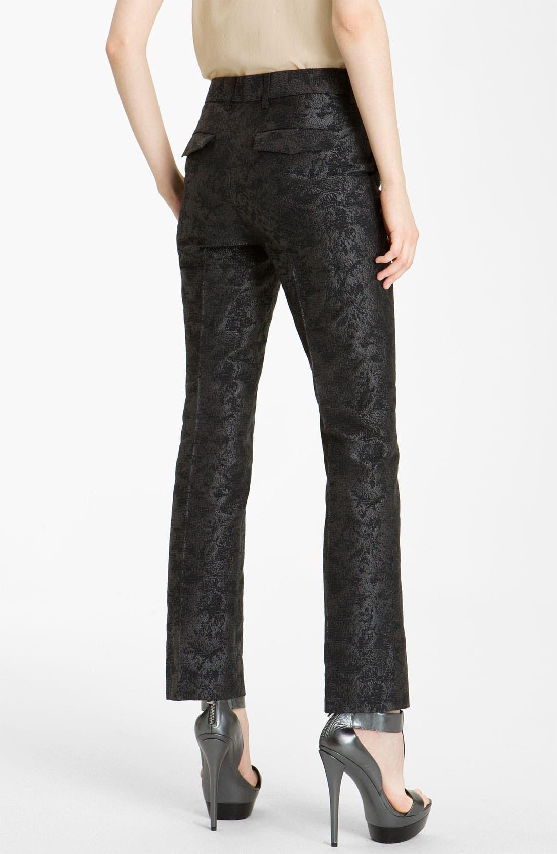 Alternate Image 2  - Rachel Zoe 'Anne II' Slim Brocade Pants